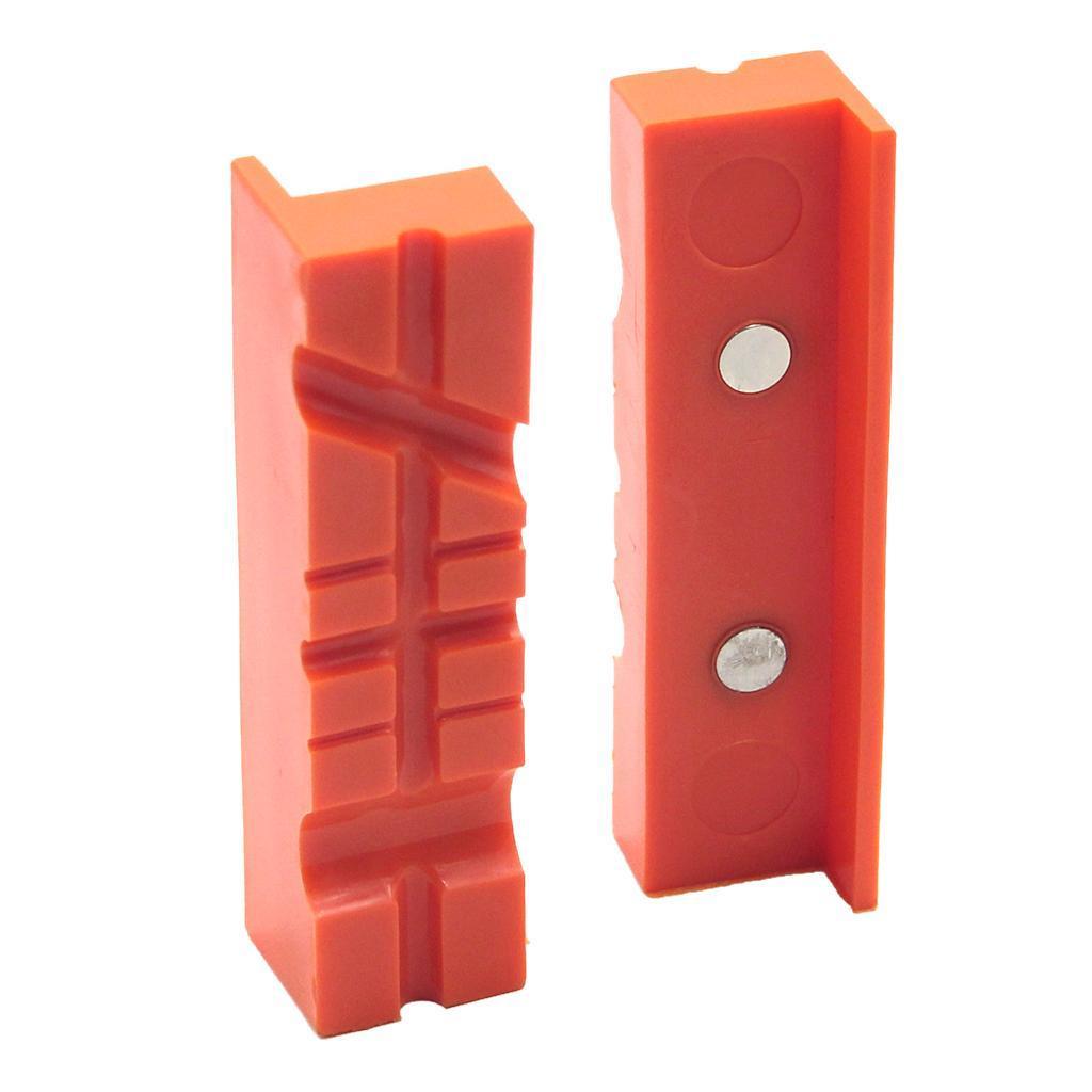 2pcs-Set-Magnetico-Morsa-Mascella-Pad-Covers-Protezioni-Multi-Scanalato-Morbido miniatura 13