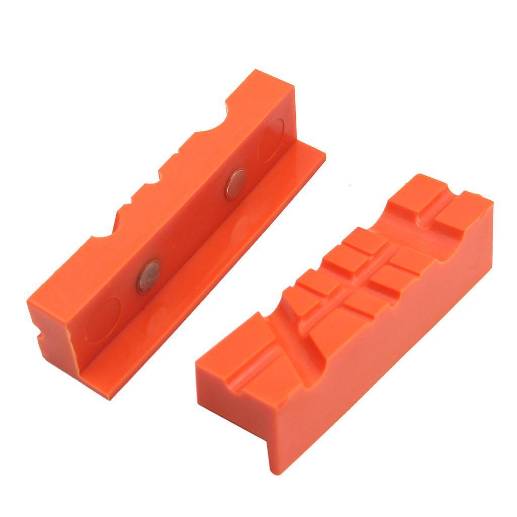 2pcs-Set-Magnetico-Morsa-Mascella-Pad-Covers-Protezioni-Multi-Scanalato-Morbido miniatura 14