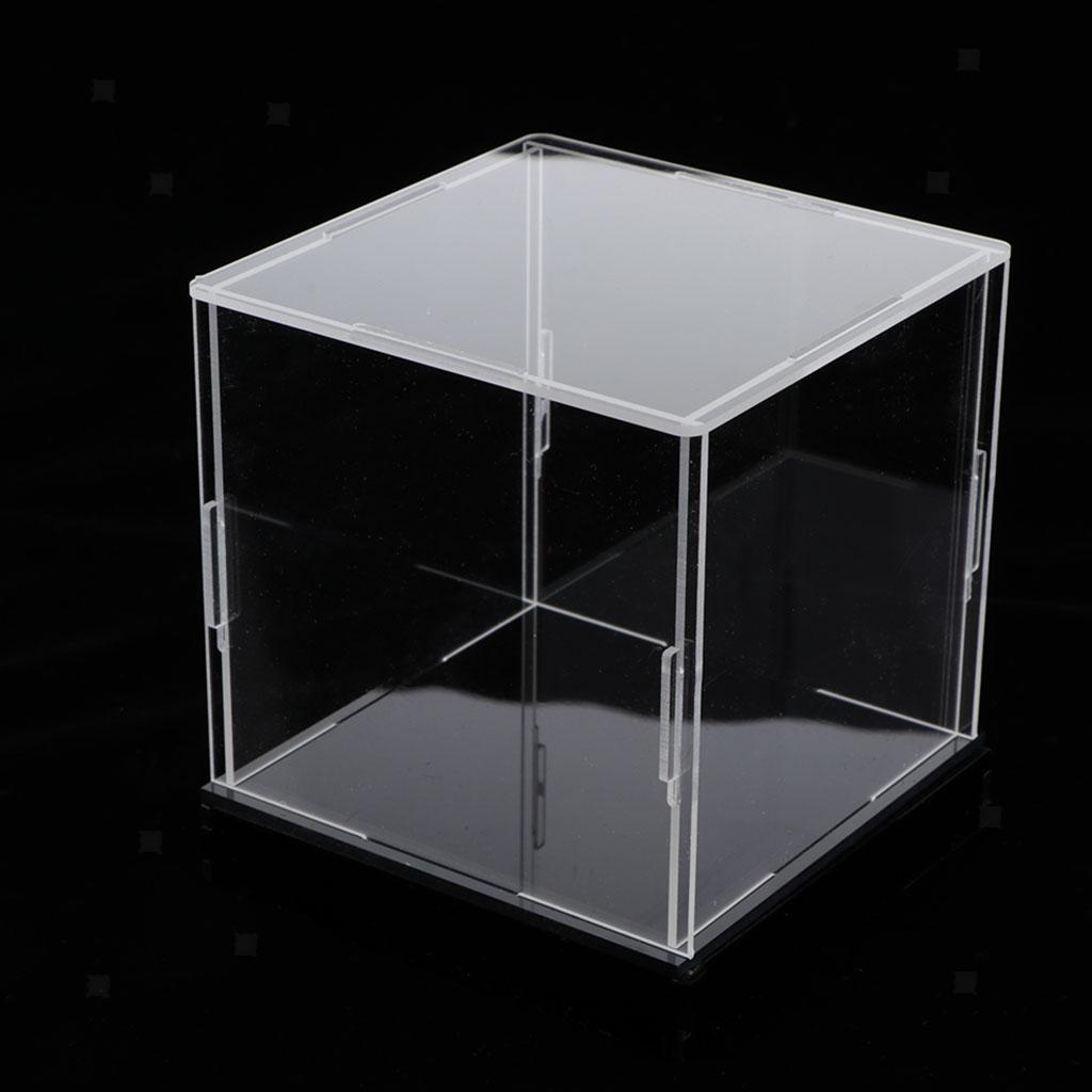 Klare Acryl Vitrine Einzelvitrine Acrylbox Acrylvitrine Box Würfelbox