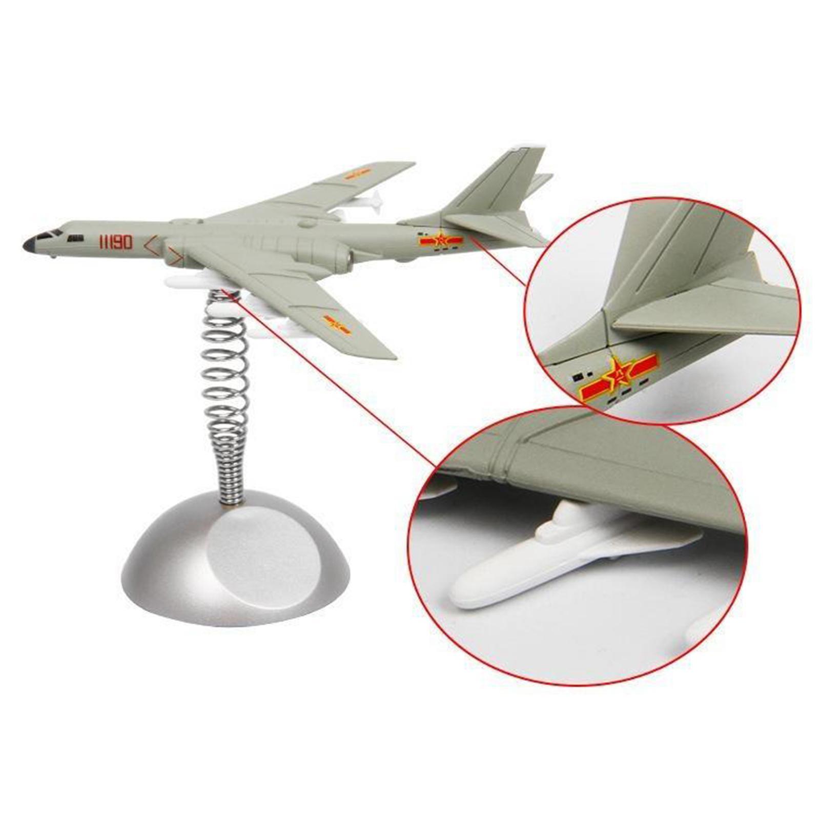 miniatura 7 - Modello di aeromobile Modello di Bomber-6K Aereo Da Caccia Copany Auto Da Tavolo
