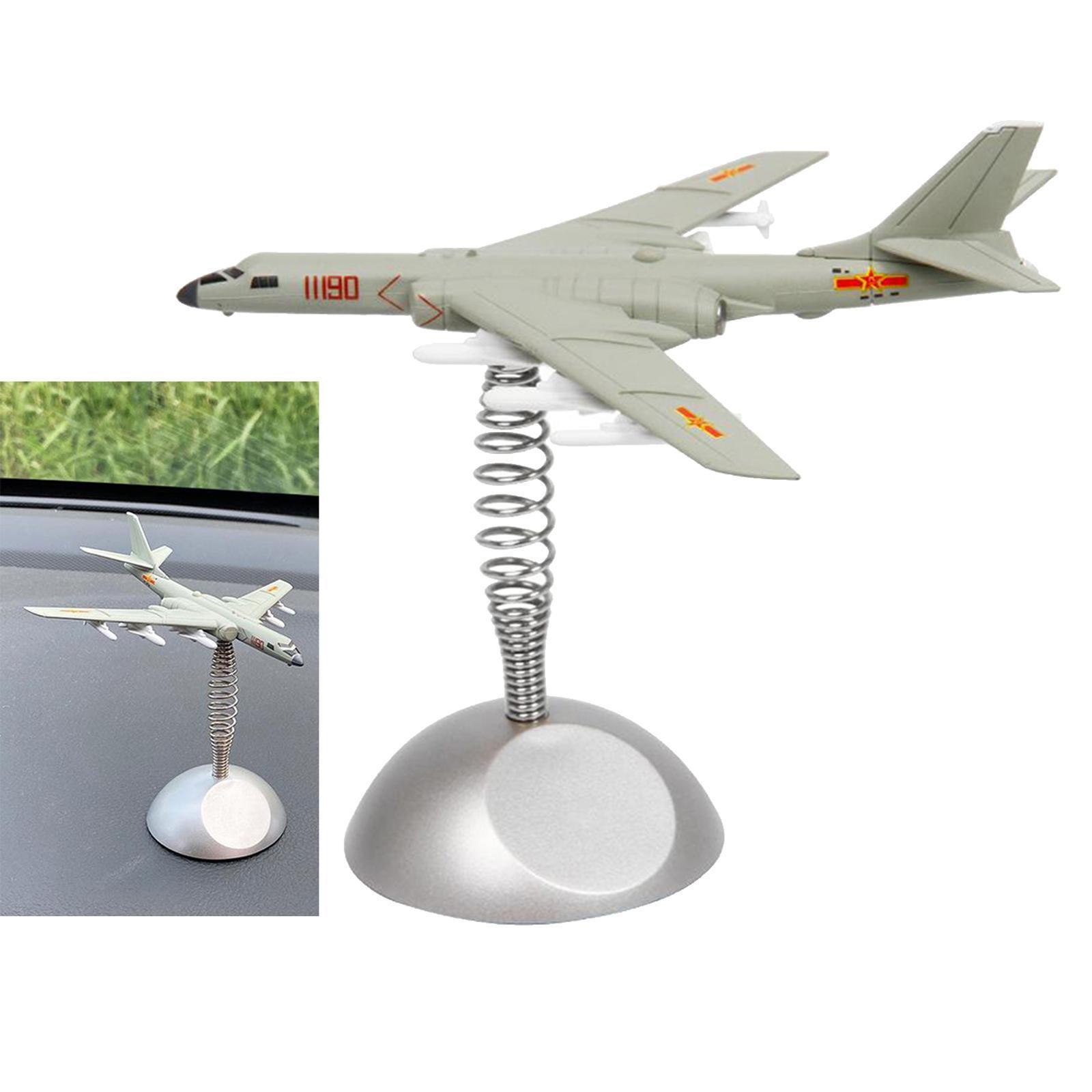 miniatura 9 - Modello di aeromobile Modello di Bomber-6K Aereo Da Caccia Copany Auto Da Tavolo