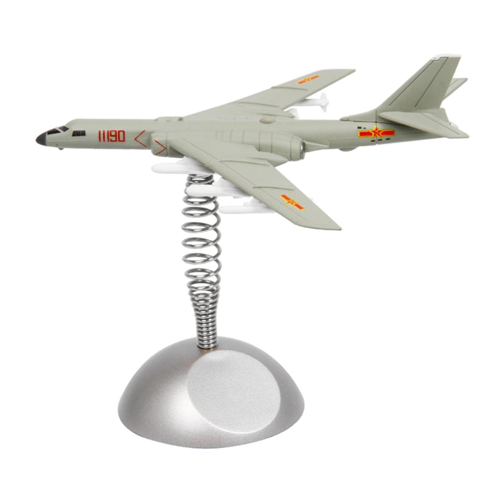 miniatura 5 - Modello di aeromobile Modello di Bomber-6K Aereo Da Caccia Copany Auto Da Tavolo