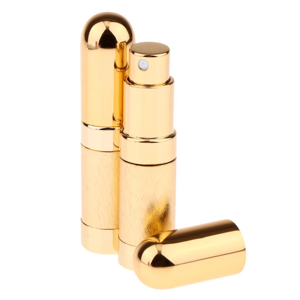 6ml-Metall-Tragbare-Mini-Nachfuellbare-Parfuemflasche-Fuer-Die-Reise-Mehrfarbig Indexbild 6