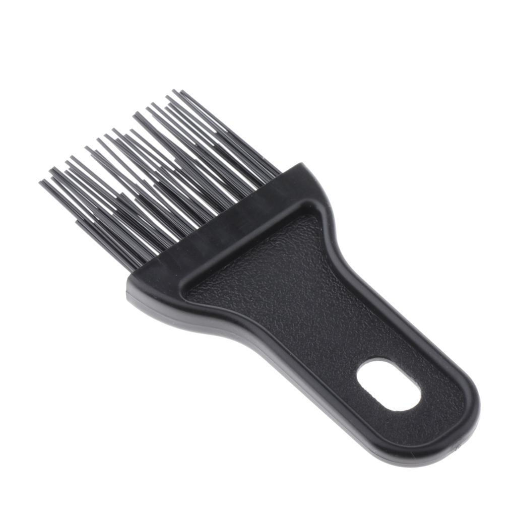 Black-Plastic-Durable-Brush-Comb-Cleaner-Portable-Hair-Dust-Remover-for-Home thumbnail 11