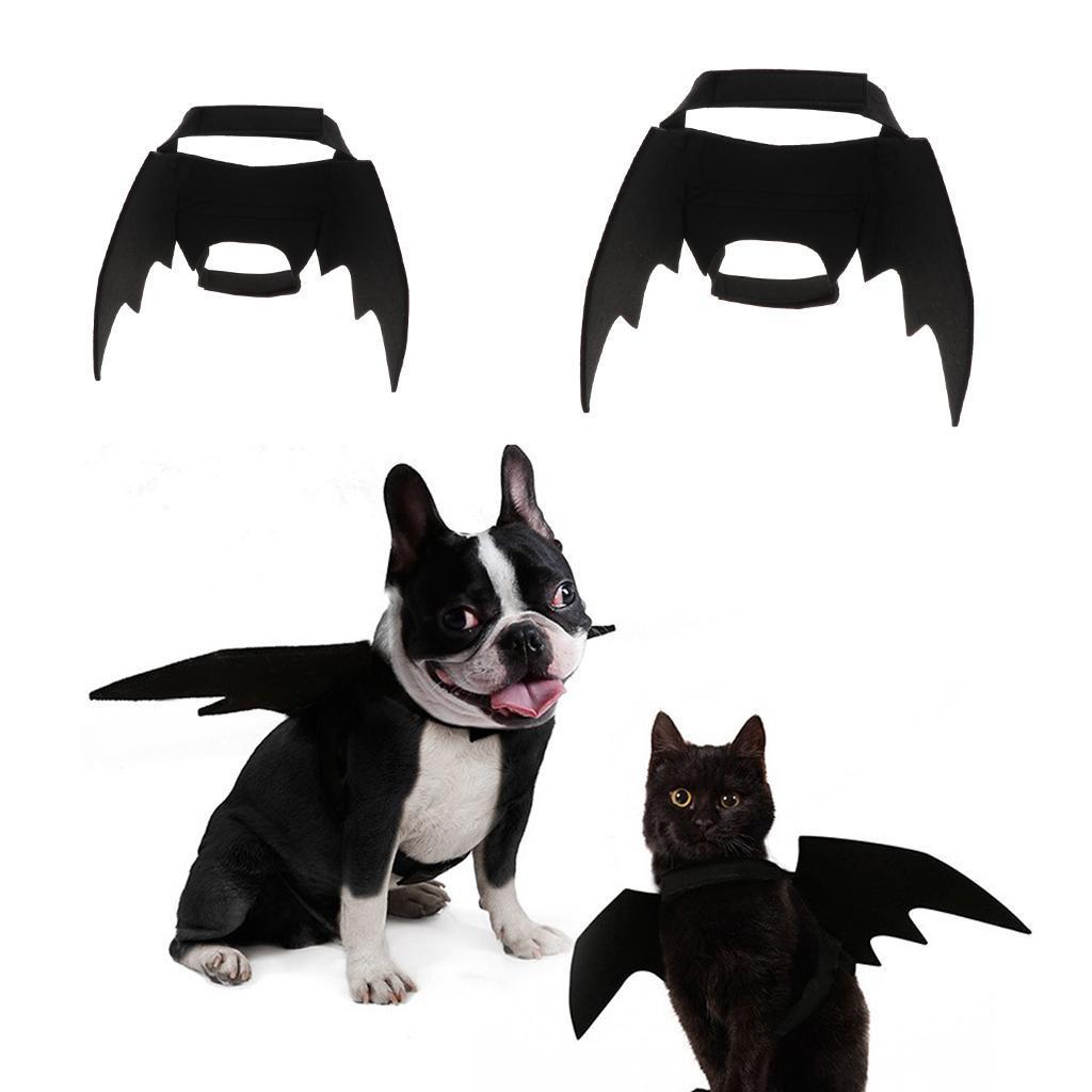 Halloween-Costume-per-cani-Costume-Ali-di-pipistrello-per-cane-Gatto miniatuur 4