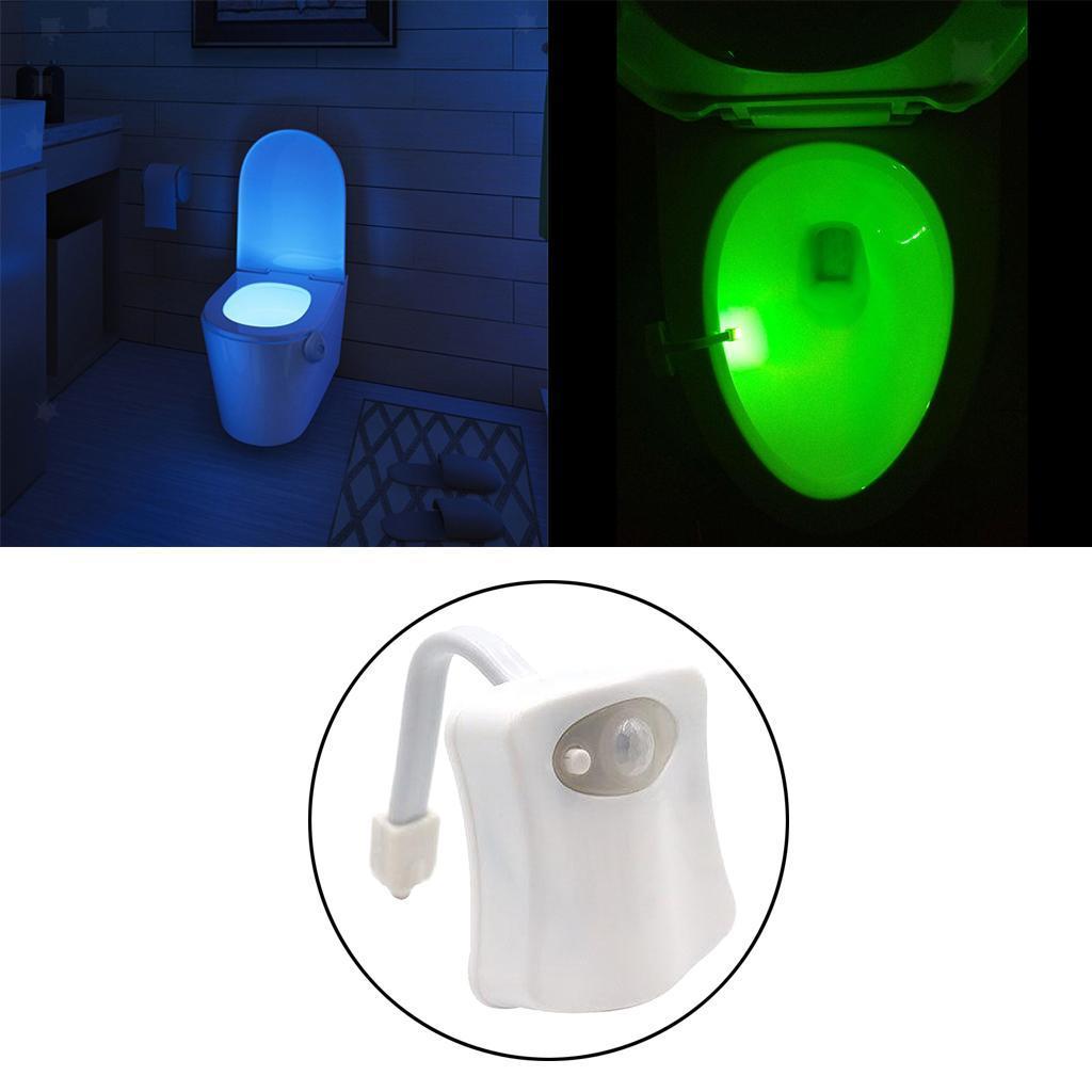 WC-Ciotola-di-Luce-di-Notte-Retroilluminazione-A-LED-Smart-Sensori-di-Movimento miniatura 17