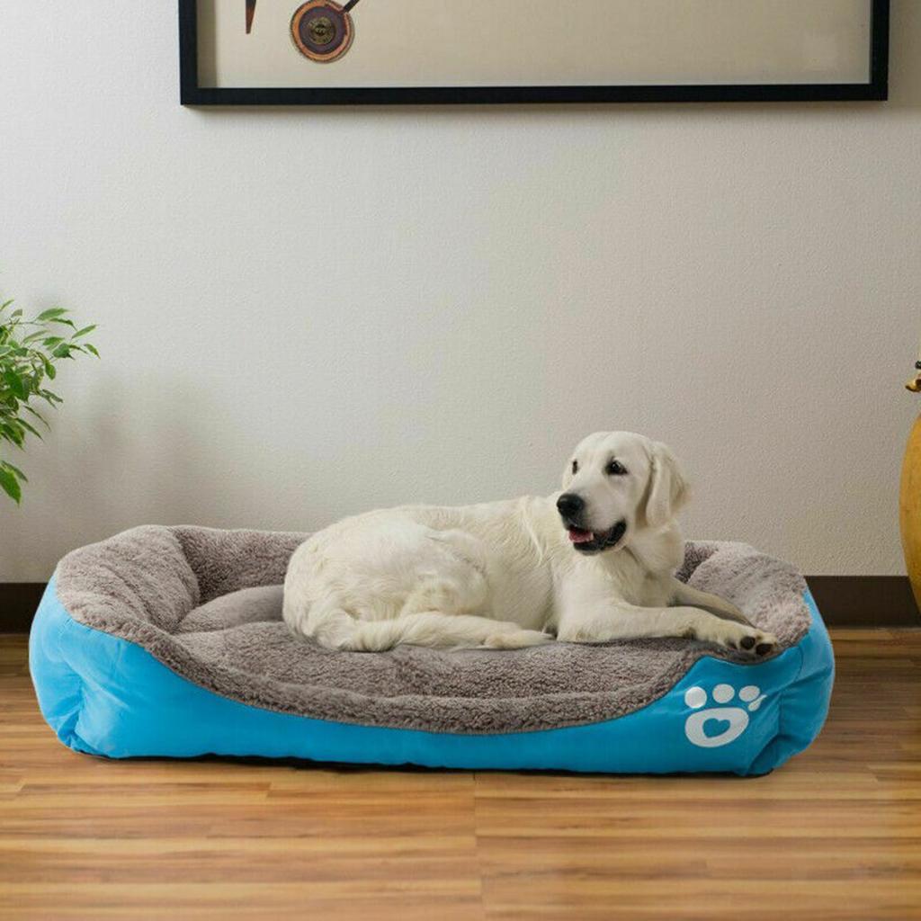 Indexbild 7 - Hund-Bett-Kissen-Waschbar-Haustierbett-Waermematte-fuer-Katzen-und-Hunde