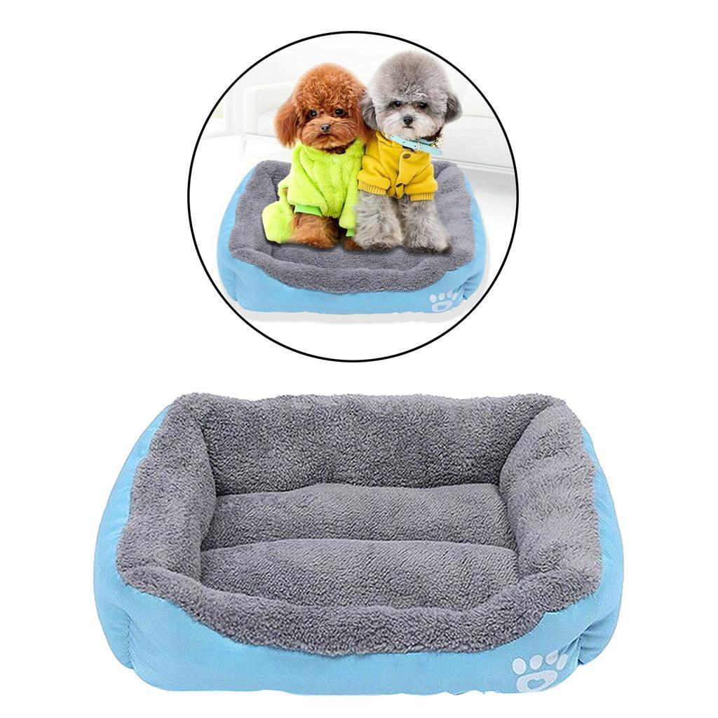 Indexbild 8 - Hund-Bett-Kissen-Waschbar-Haustierbett-Waermematte-fuer-Katzen-und-Hunde