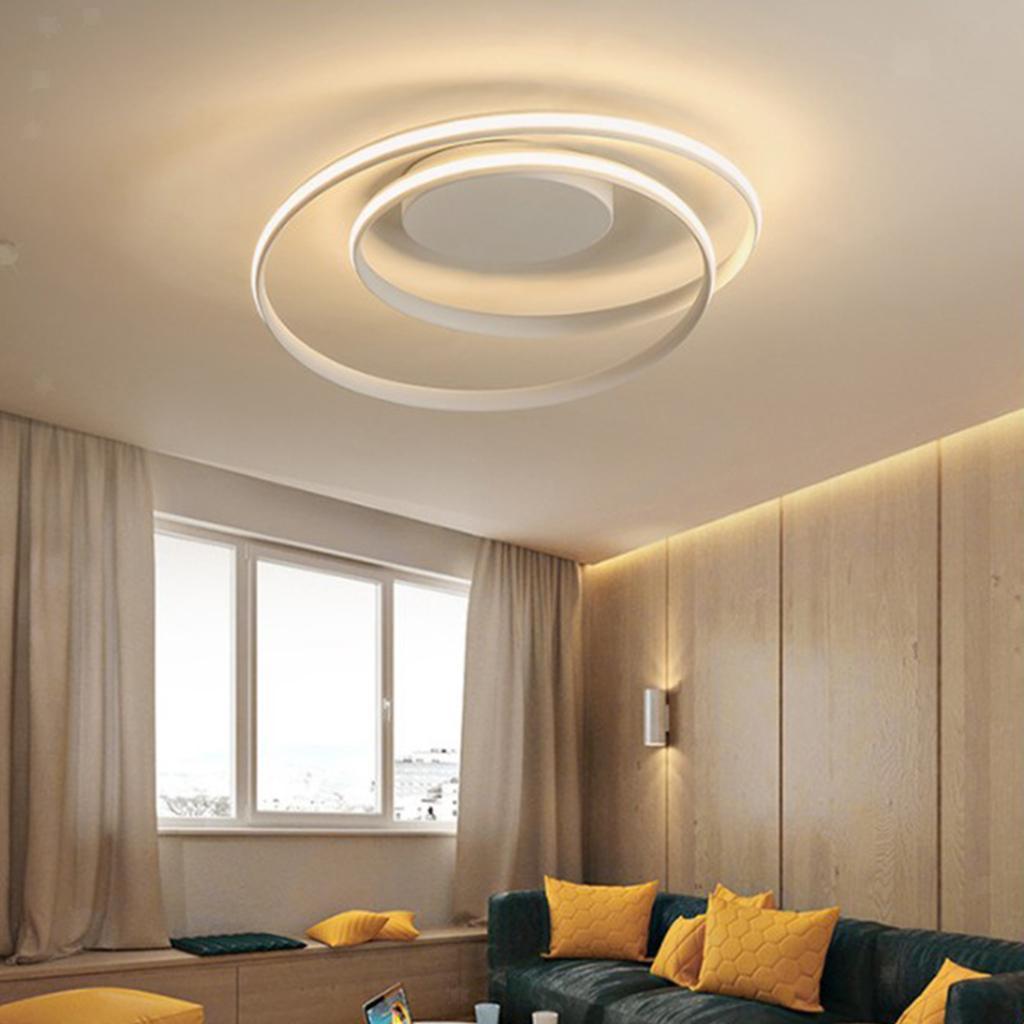 Luce-di-Soffitto-del-LED-di-Controllo-Remoto-Della-Lampada-Soggiorno-Cucina miniatura 4