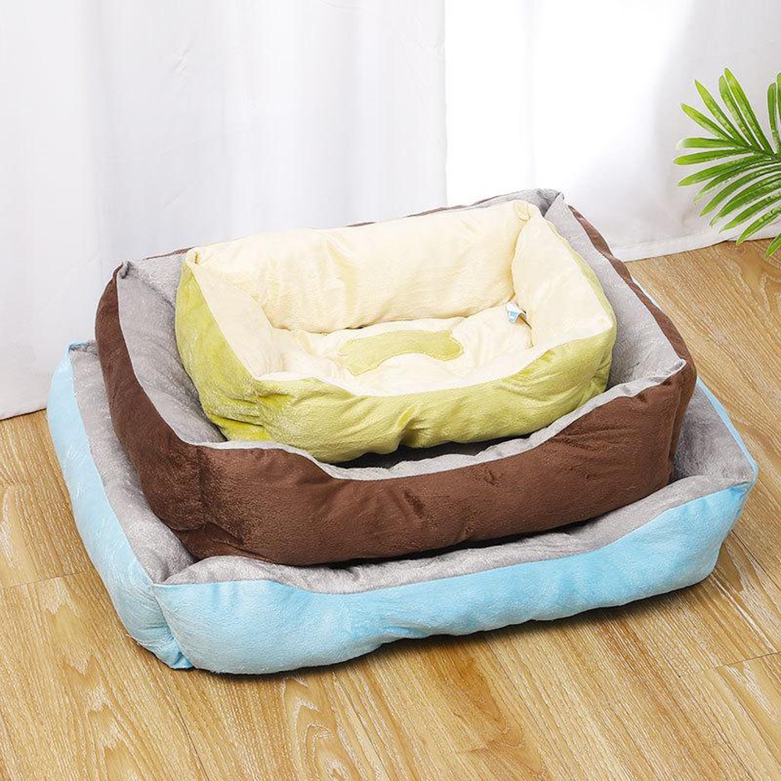 Indexbild 14 - Katze-Hund-Bett-Pet-Kissen-Betten-Haus-Schlaf-Soft-Warmen-Zwinger-Decke-Nest