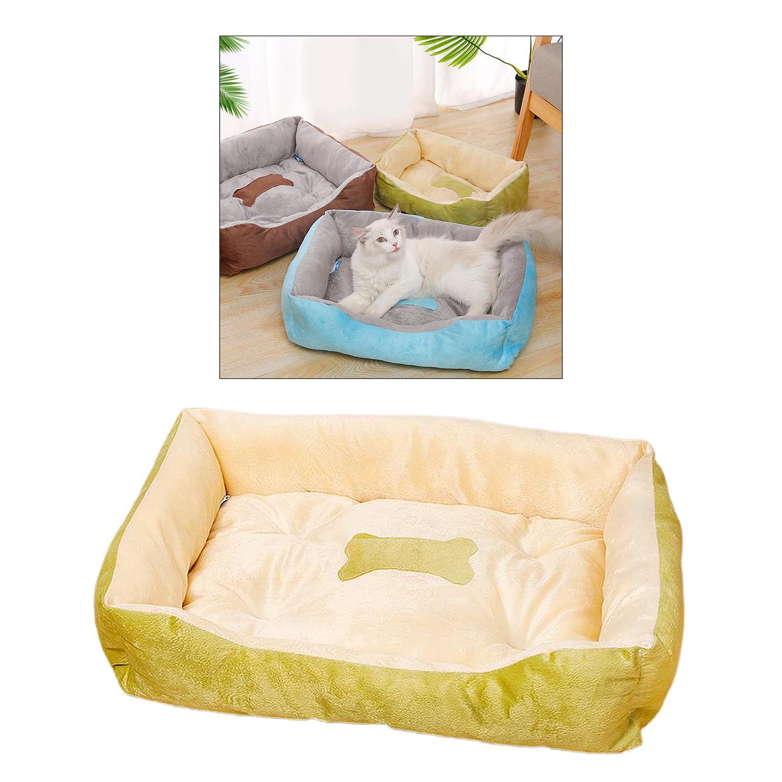 Indexbild 19 - Katze-Hund-Bett-Pet-Kissen-Betten-Haus-Schlaf-Soft-Warmen-Zwinger-Decke-Nest