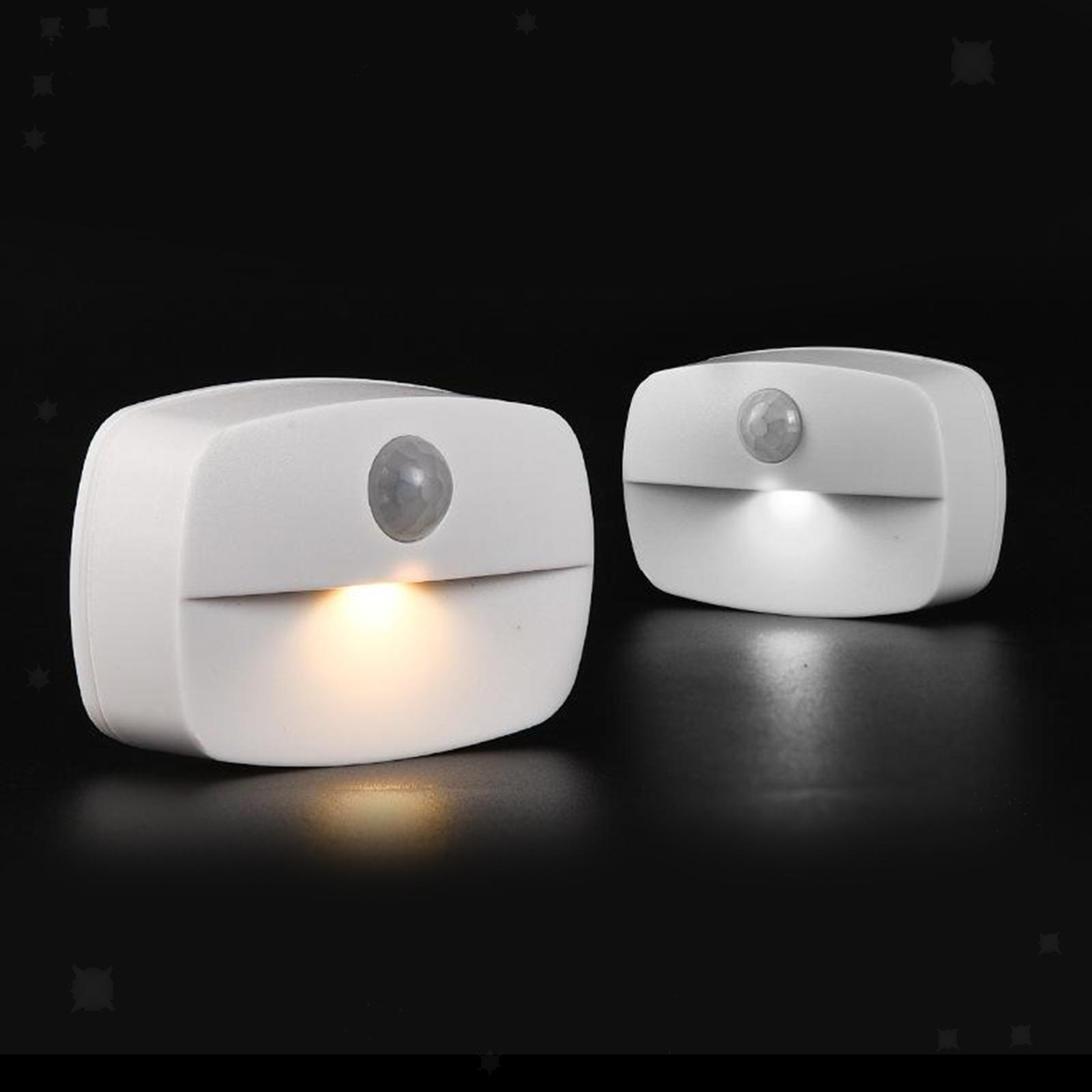 miniatura 6 - Lampada-da-parete-multifunzione-a-LED-con-sensore-di-movimento-Lampada-da-parete