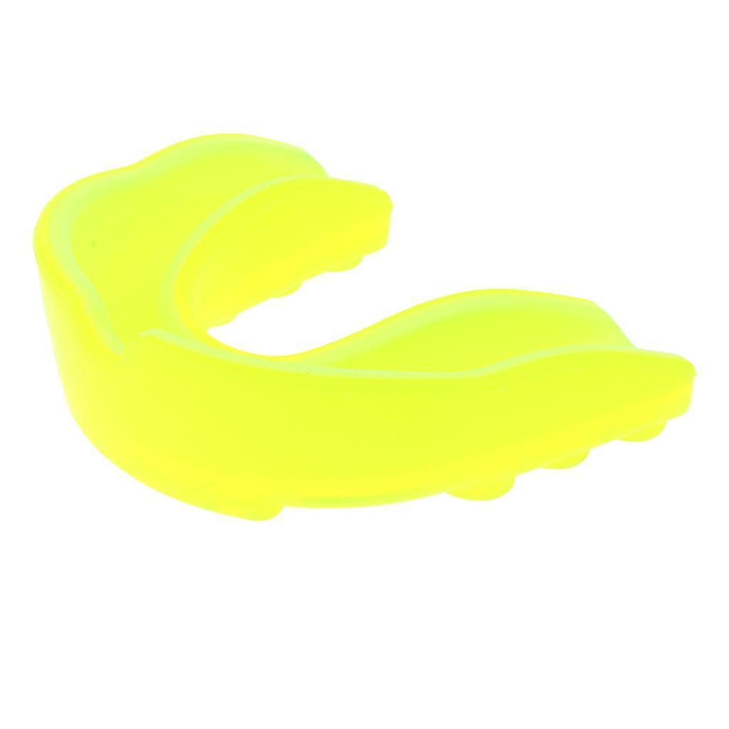Indexbild 16 - EVA Adult Youth Mouthguard   Zahnknirschen Mundschutz Gum Shield für