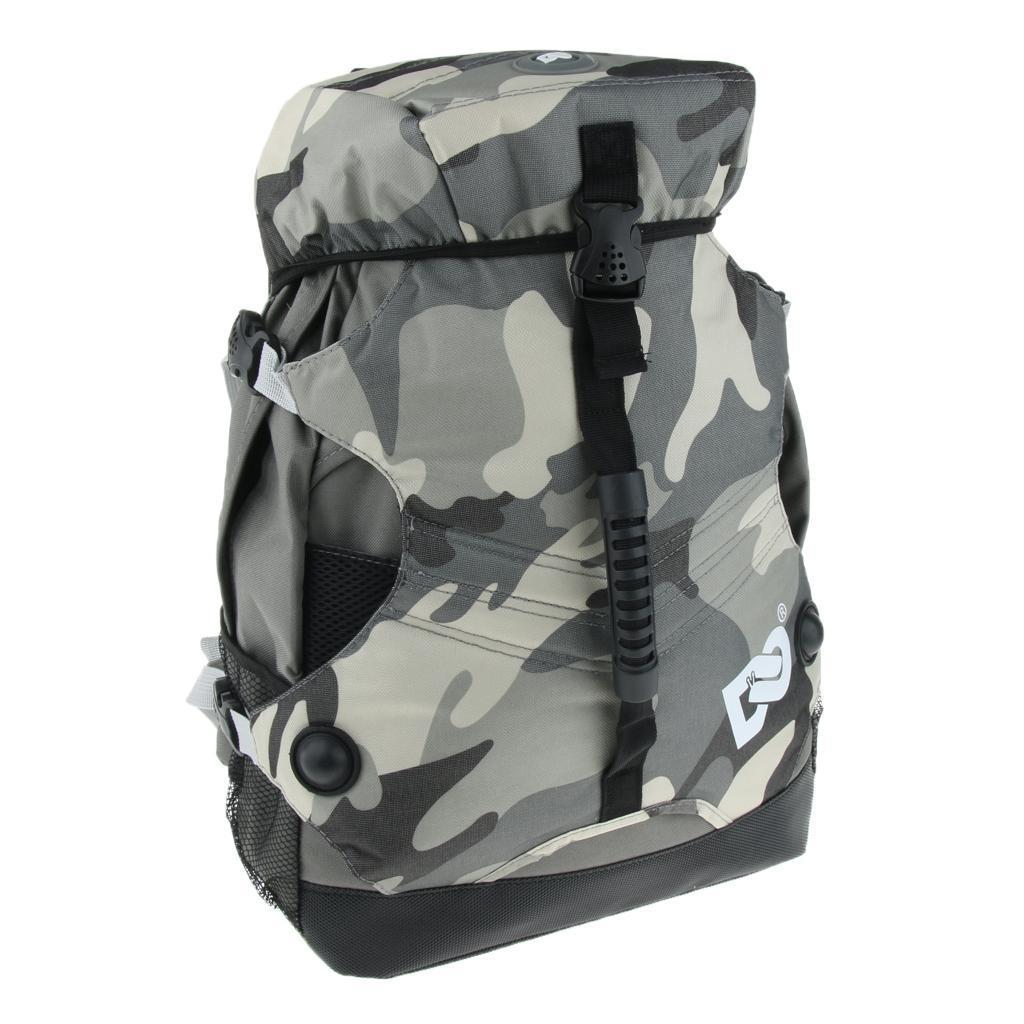 Inline-Skates-Backpack-Men-Women-Adjustable-Roller-Skates-Carry-Shoulder-Bag thumbnail 8