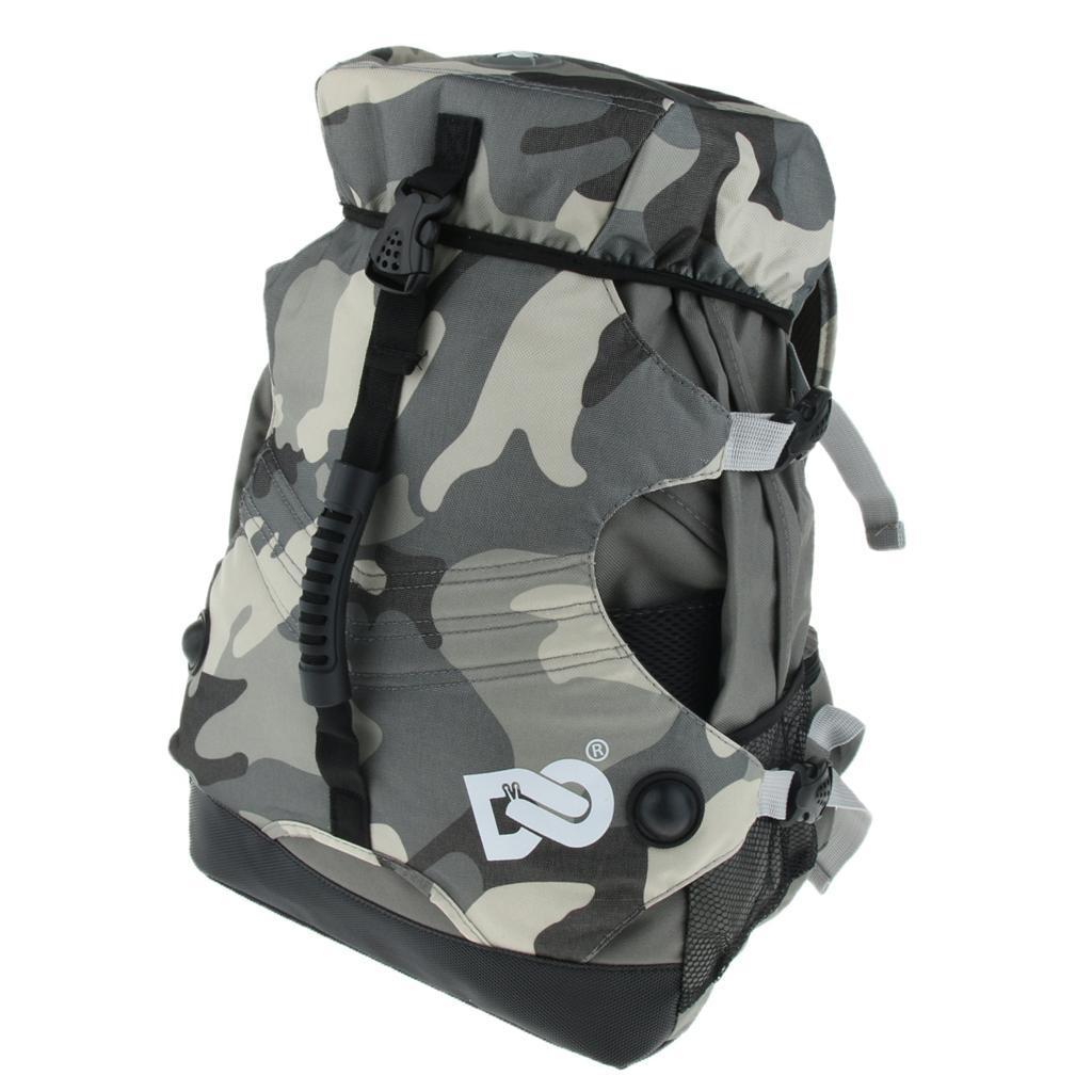 Inline-Skates-Backpack-Men-Women-Adjustable-Roller-Skates-Carry-Shoulder-Bag thumbnail 9