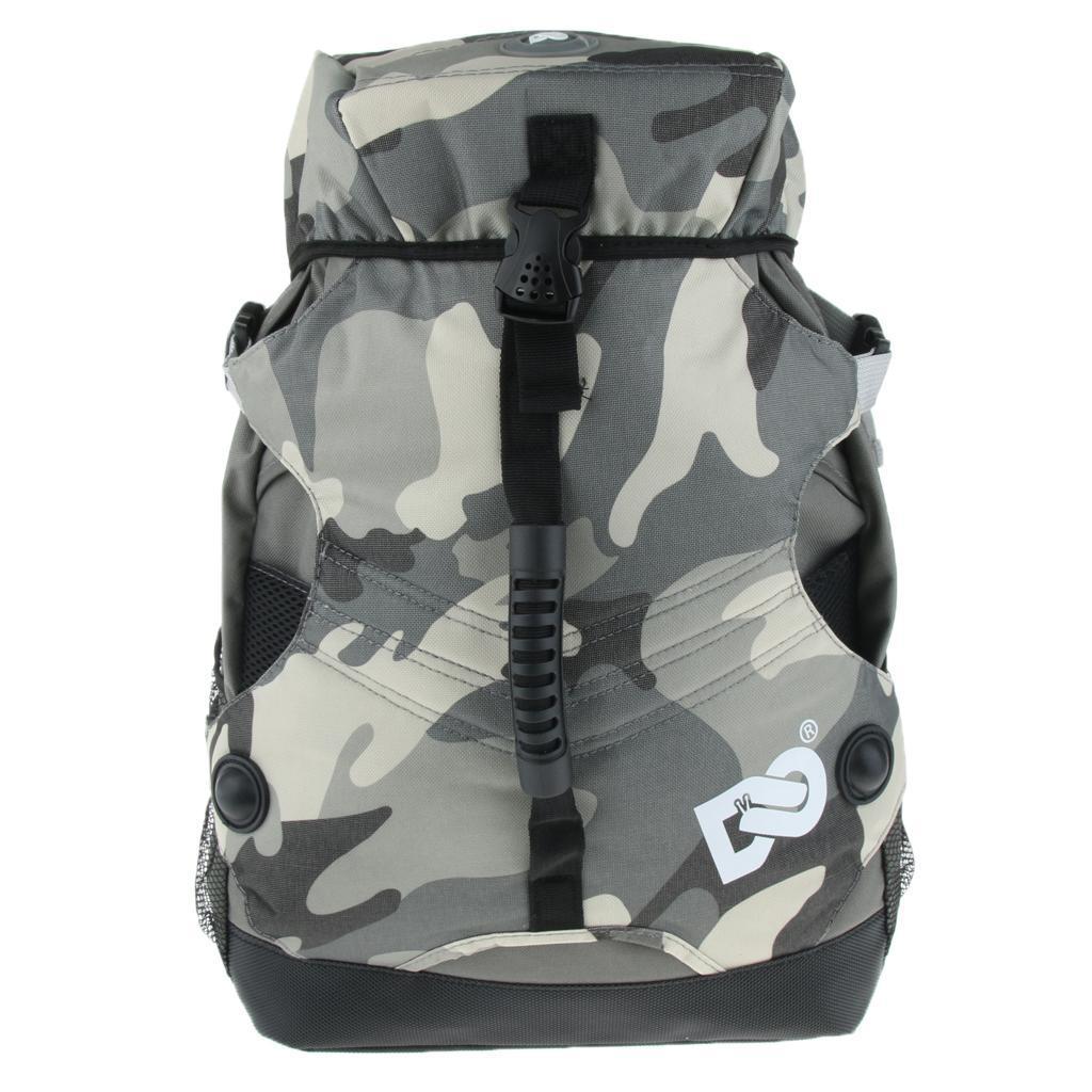 Inline-Skates-Backpack-Men-Women-Adjustable-Roller-Skates-Carry-Shoulder-Bag thumbnail 10