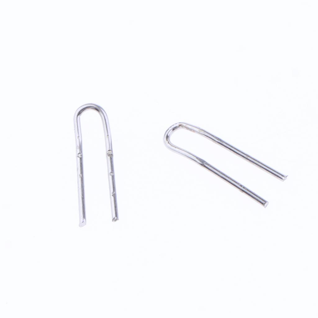 10 pcs Edelstahl Angelrute spitzenring Reparieren Kit