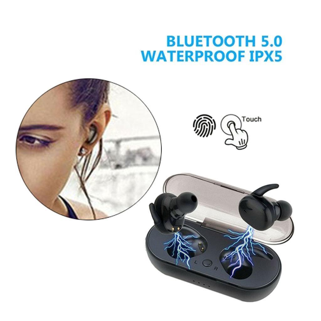 Vero-Auricolari-Senza-Fili-Bluetooth-5-0-Cuffie-in-Ear-TWS-Mini-Auricolare-per miniatura 3