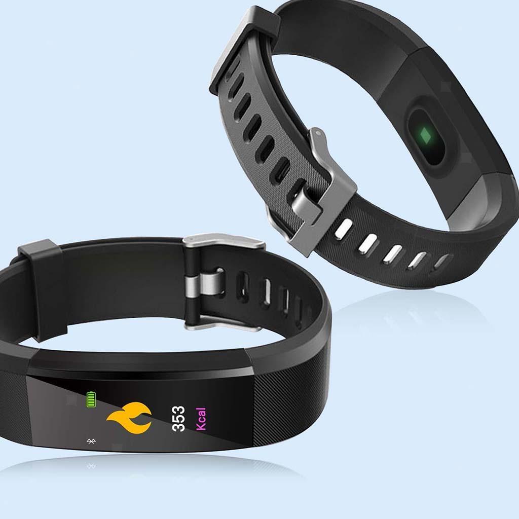 Indexbild 7 - 115Plus Smart Watch Armband Fitness Tracker Herzfrequenzmesser
