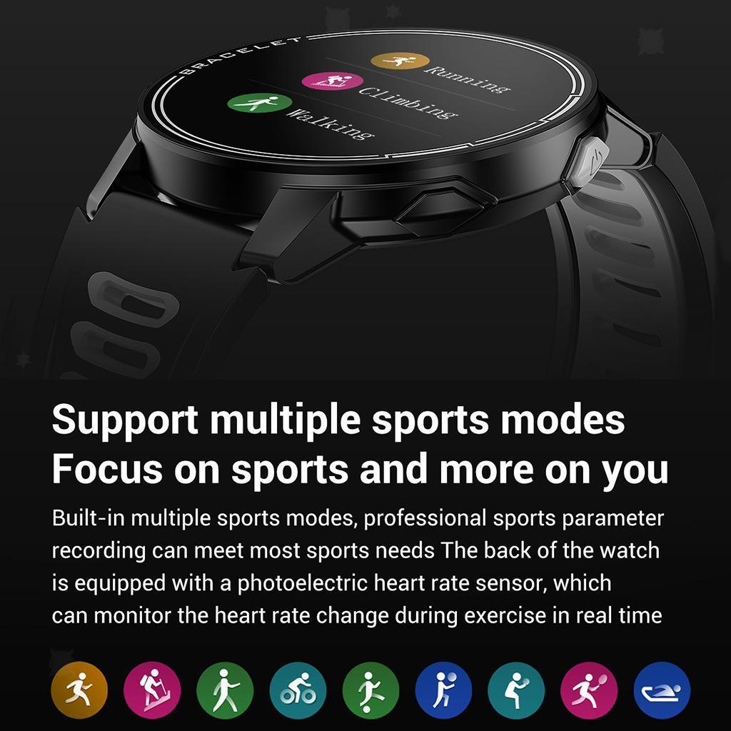 miniature 23 - S20 montre intelligente hommes IP68 étanche Fitness Tracker moniteur de