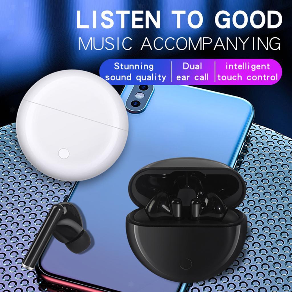 Senza-fili-di-Bluetooth-Cuffie-5-0-Auricolari-TWS-Auricolari miniatura 13