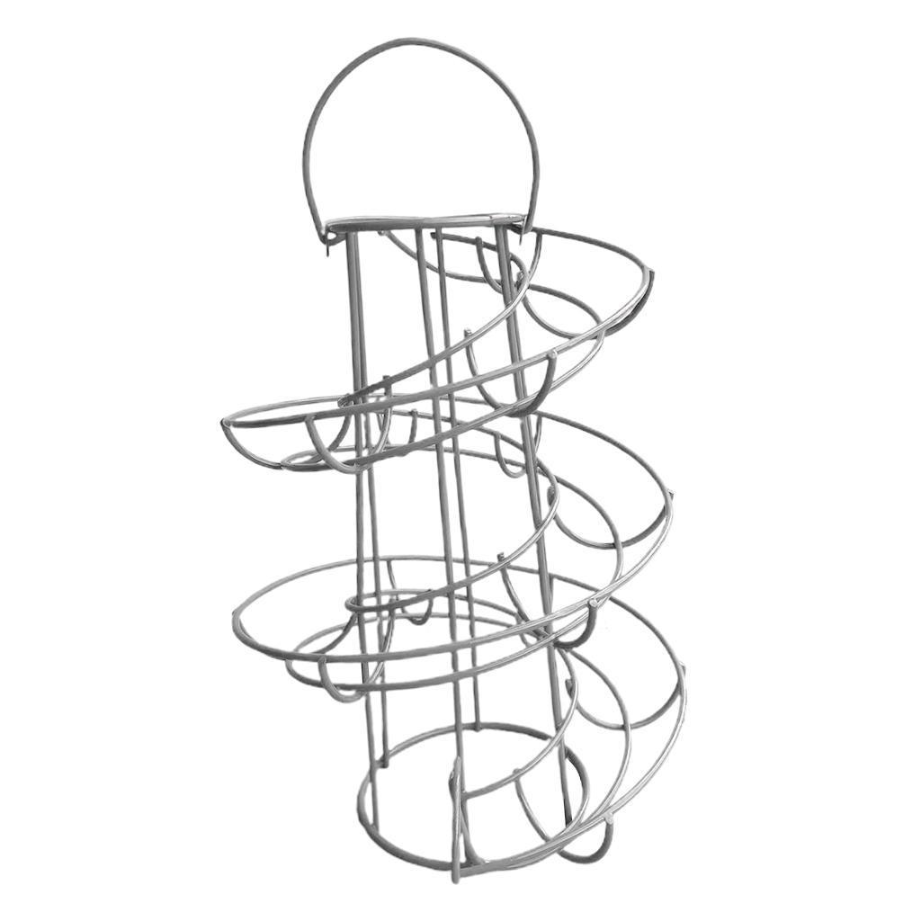 Dispenser-Per-Cestello-Per-Portauova-A-Spirale-Per-Porta-Moderna-A-Spirale-In miniatura 9