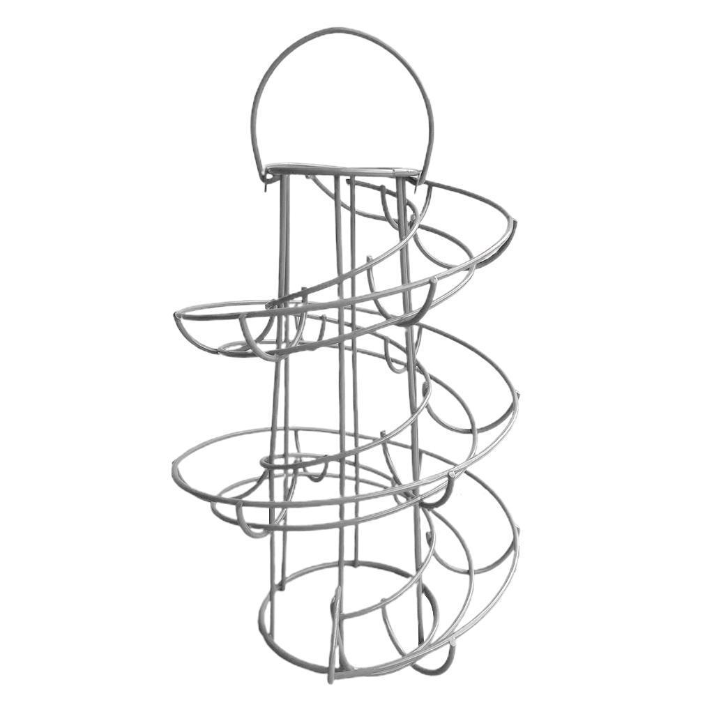 Dispenser-Per-Cestello-Per-Portauova-A-Spirale-Per-Porta-Moderna-A-Spirale-In miniatura 8