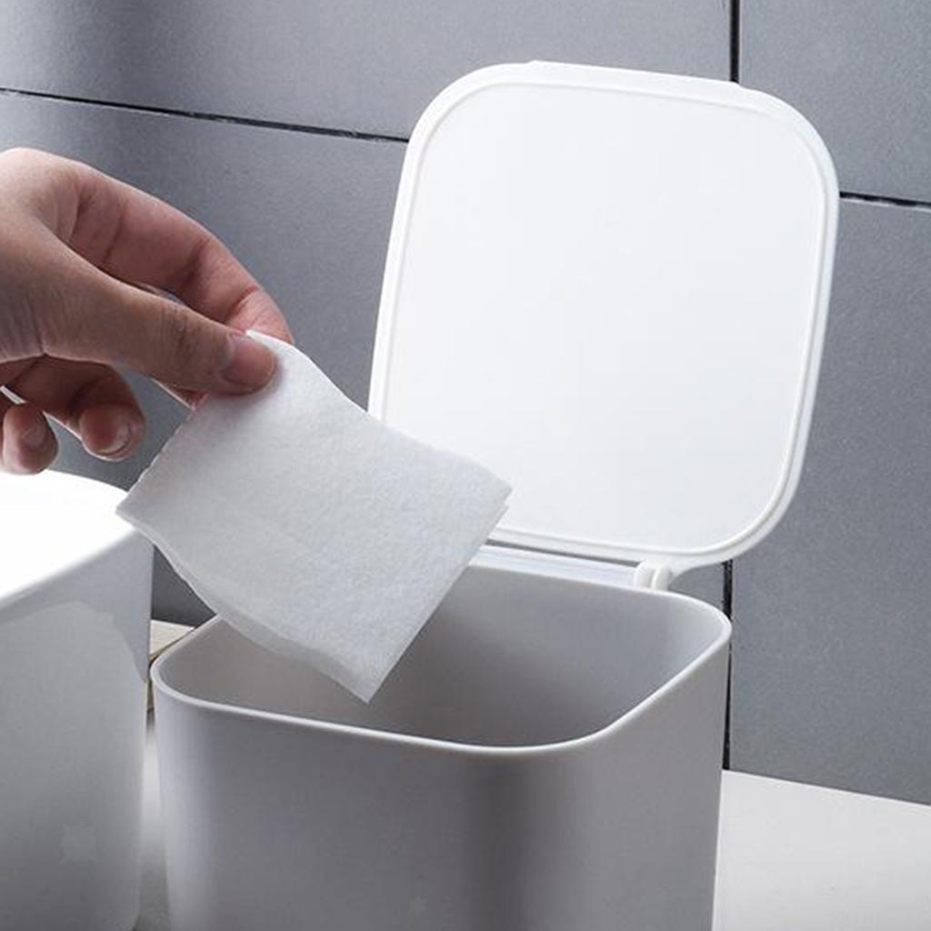 Cestino-della-spazzatura-del-bidone-della-spazzatura-di-plastica-4L-per-la miniatura 21