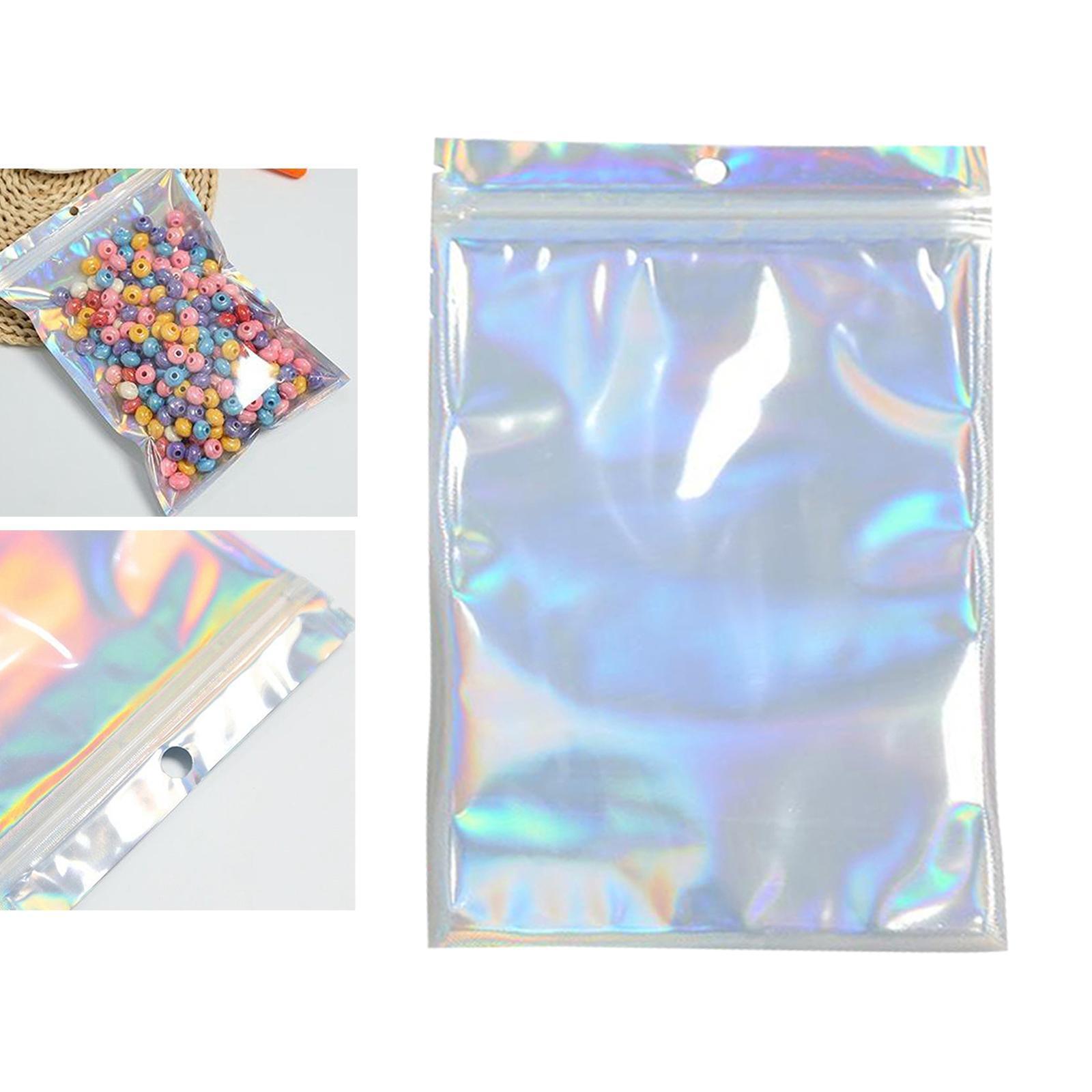 100-pezzi-sacchetti-di-pellicola-trasparente-sacchetto-sigillatura-richiudibile miniatura 10