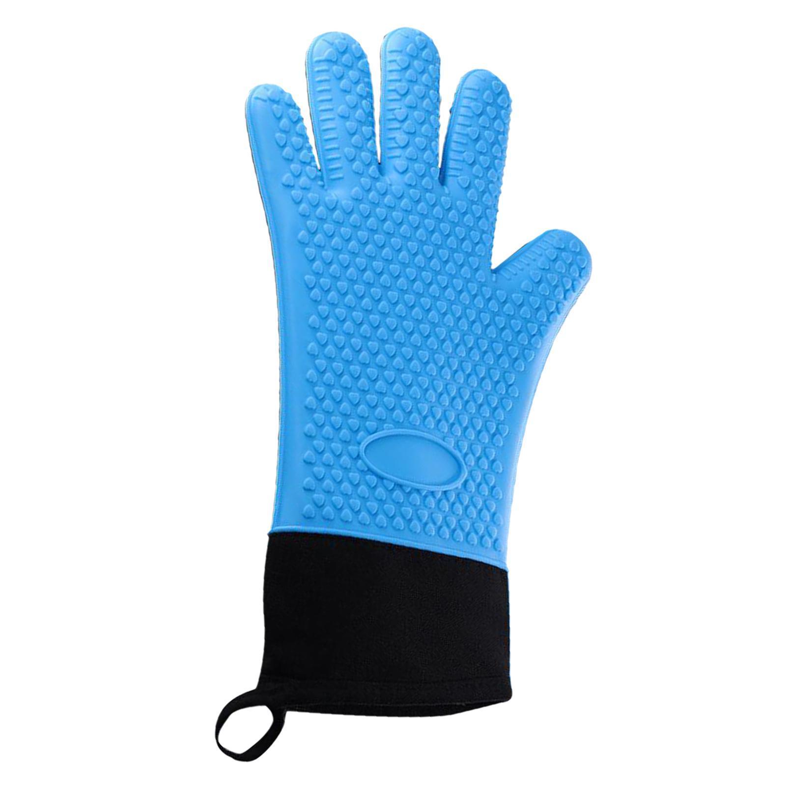 Guantes-para-horno-de-cocina-con-aislamiento-de-silicona-antideslizantes-guantes miniatura 16
