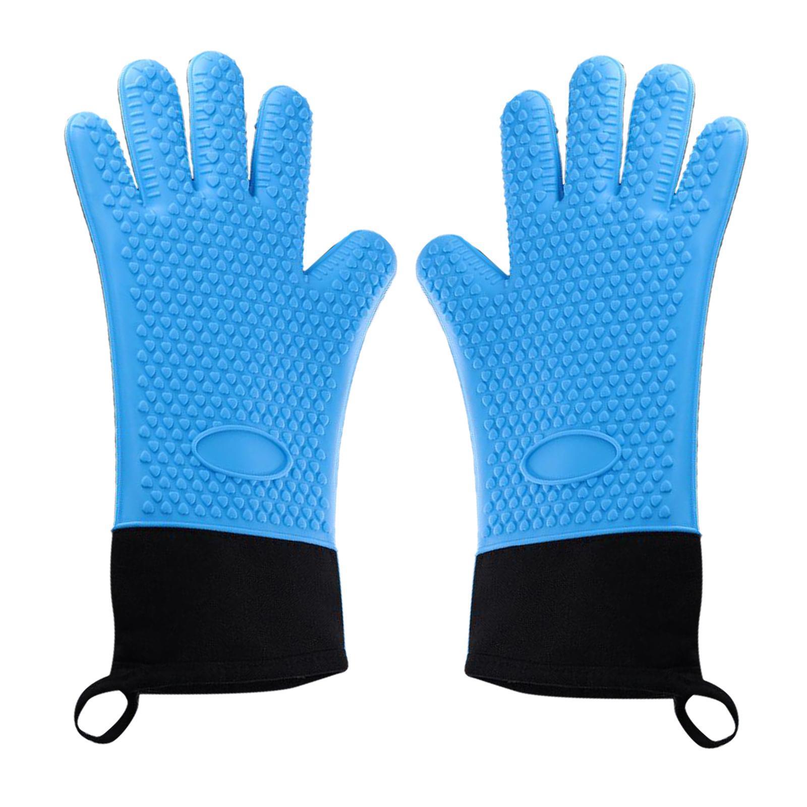 Guantes-para-horno-de-cocina-con-aislamiento-de-silicona-antideslizantes-guantes miniatura 15