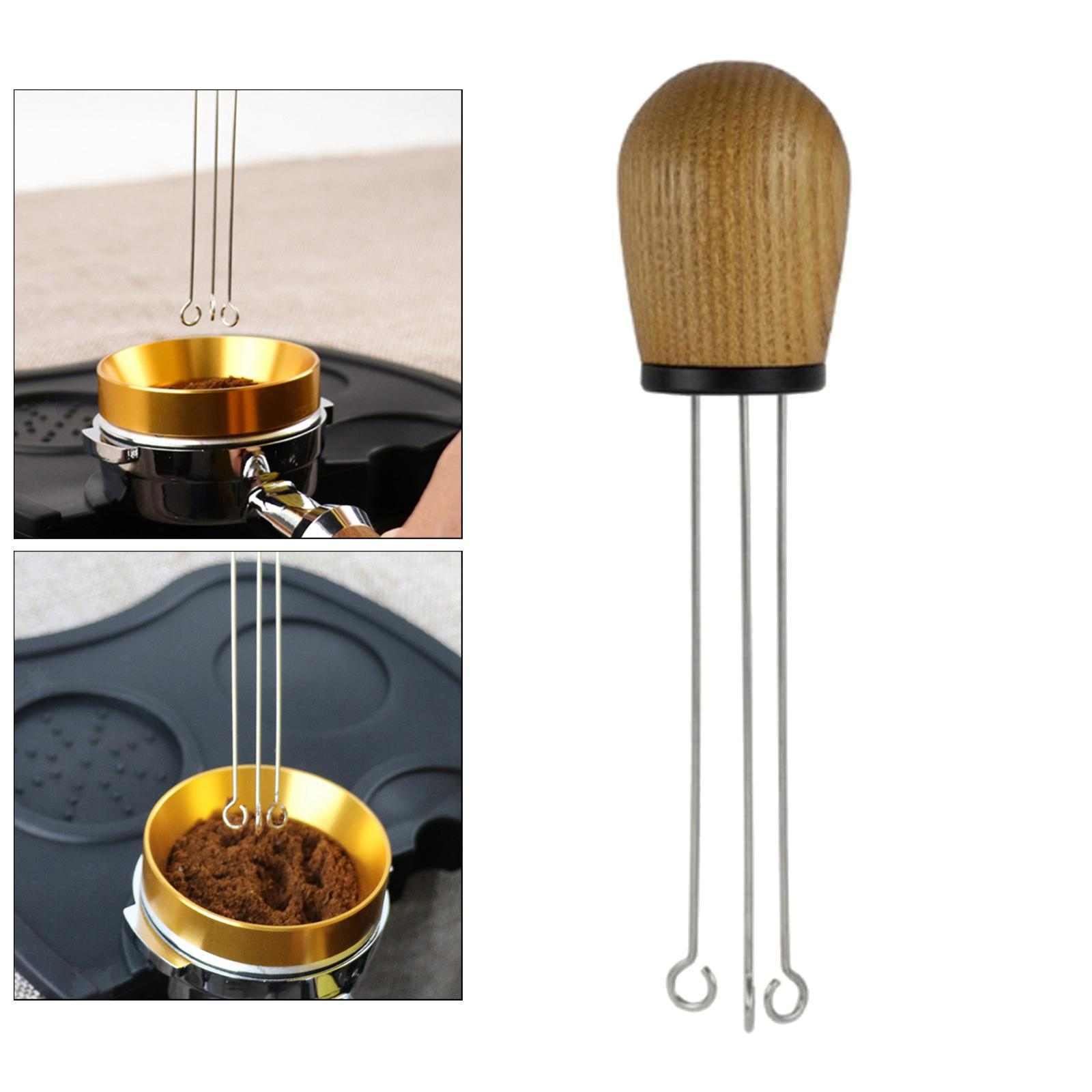 Indexbild 3 - Edelstahl Espresso Tamper Leveler Nadel Typ Pulver Händler