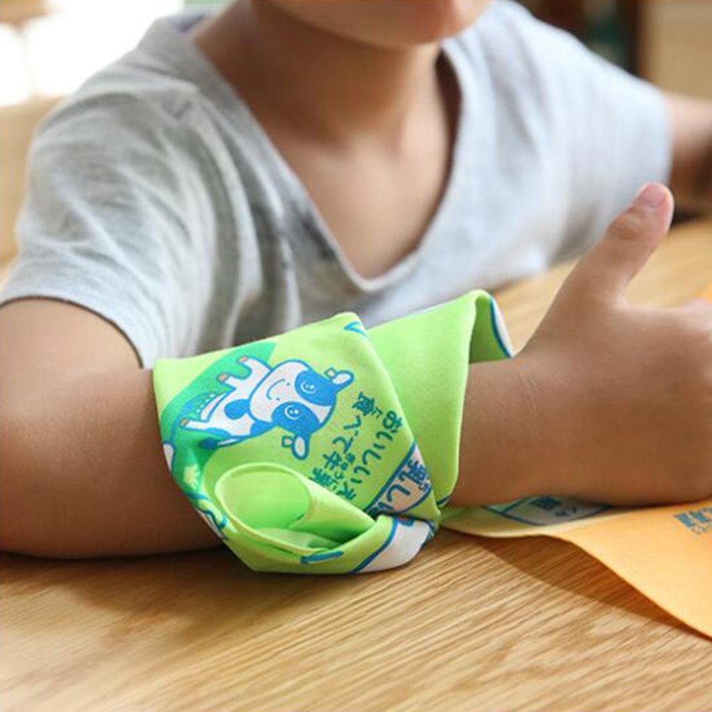 1 Paar Kindertaschentücher Baumwolle Cartoon Taschentücher Kindergartentücher