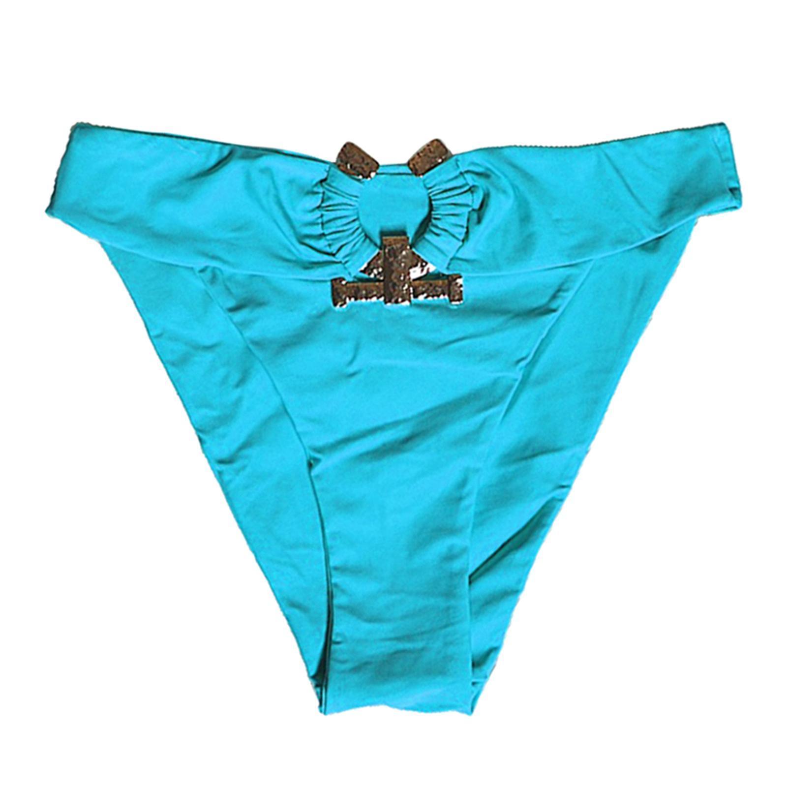 Indexbild 139 - Zwei Stücke Bikini Set Strappy Bademode Party Badeanzug Tankini Bademode