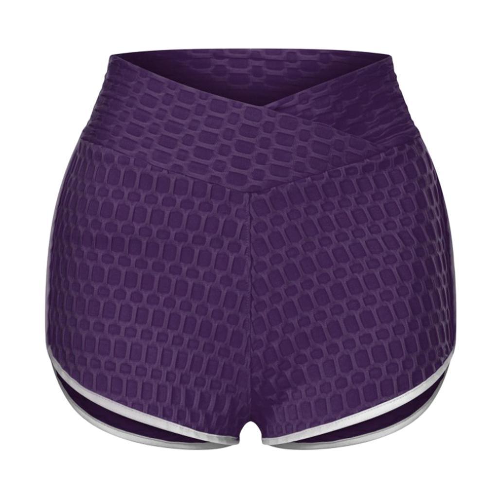 miniature 36 - Pantalons chauds femmes taille haute shorts de yoga fesses de levage Scrunch