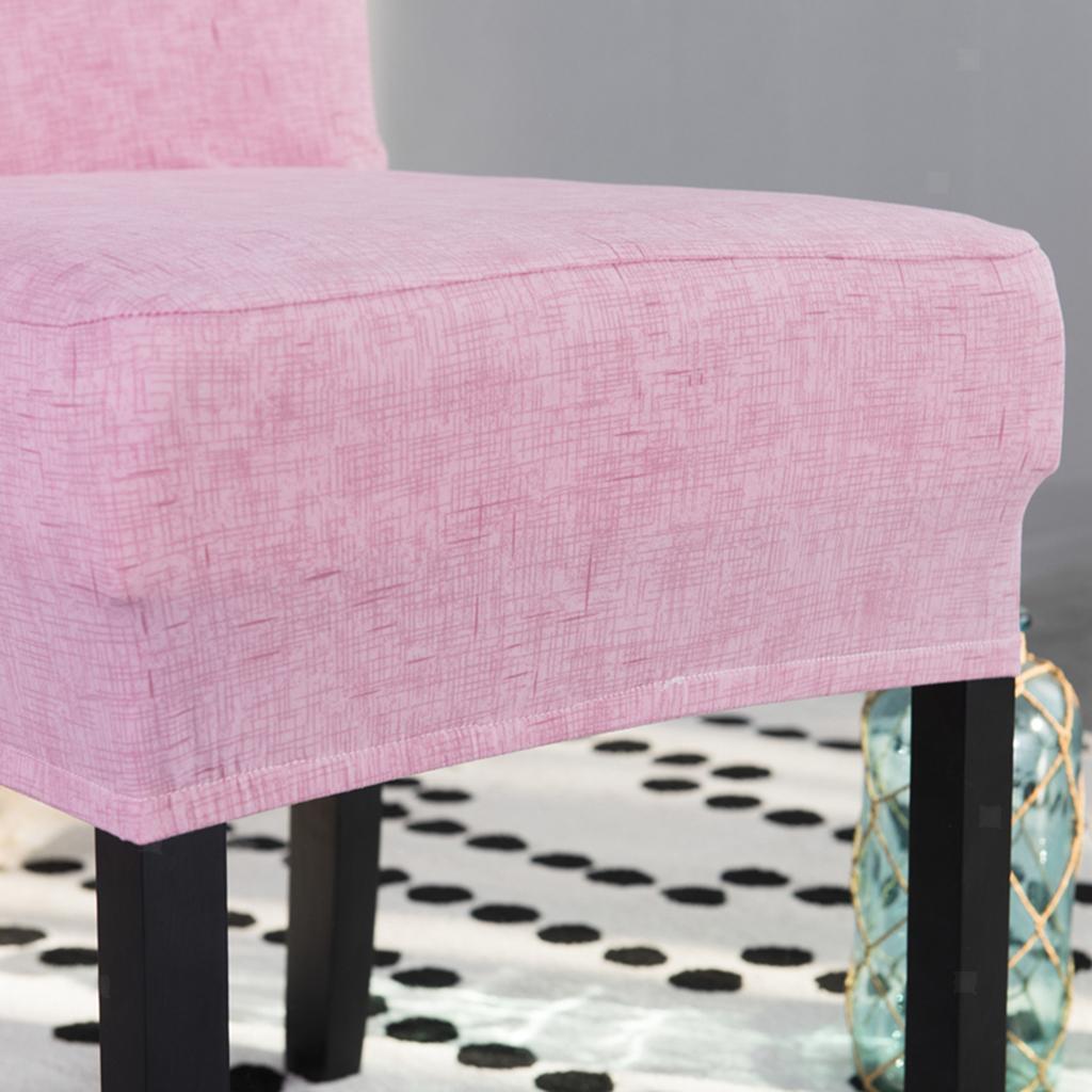 2pcs-chaise-de-salle-a-manger-a-dos-court-couvre-tabouret-de-comptoir-de-bar miniature 7