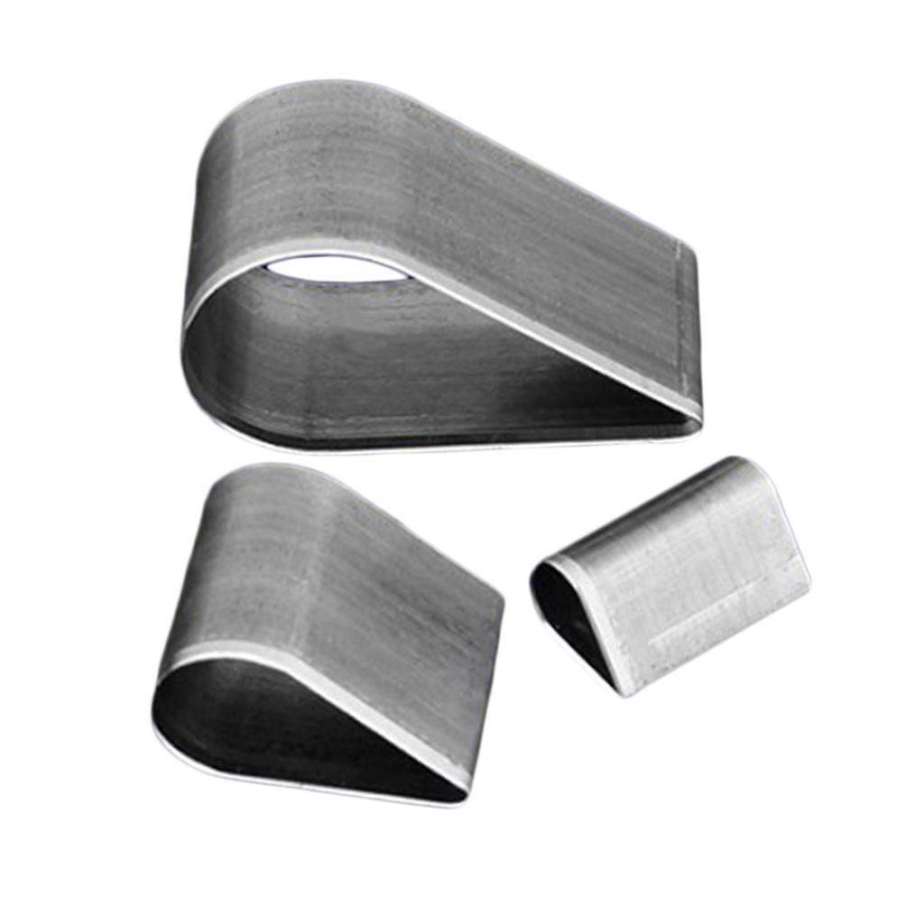 3x-Leathercraft-Punch-Die-Cutters-Stampi-Per-Tagliare-Il-Tessuto-In-Pelle miniatura 5