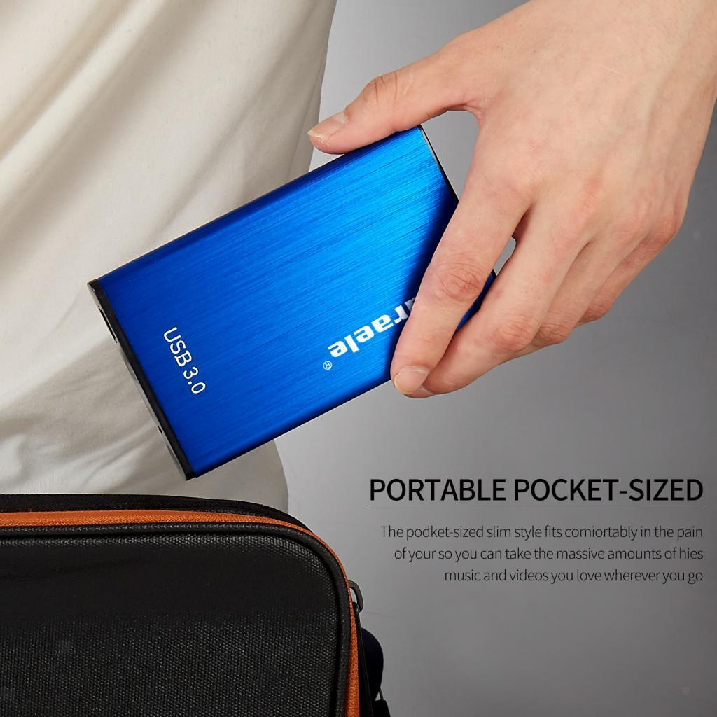 thumbnail 11 - External Storage HDD USB3.0 1TB 2TB 500GB Hard Drive Disk 5400RPM for PC Laptop