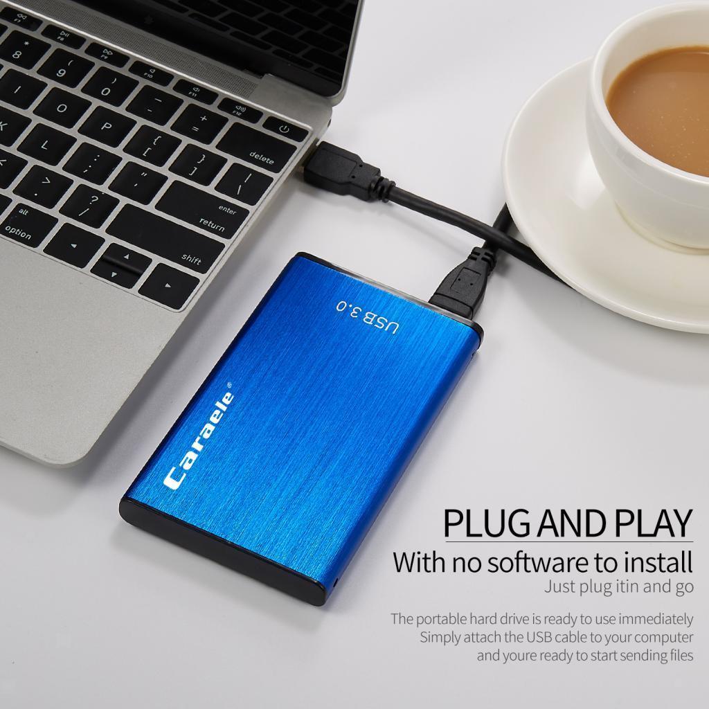 thumbnail 8 - External Storage HDD USB3.0 1TB 2TB 500GB Hard Drive Disk 5400RPM for PC Laptop