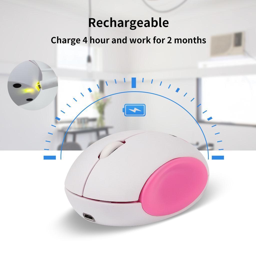 miniature 23 - Sans fil Rechargeable 2.4G souris réglable DPI 3 niveau pour ordinateur de