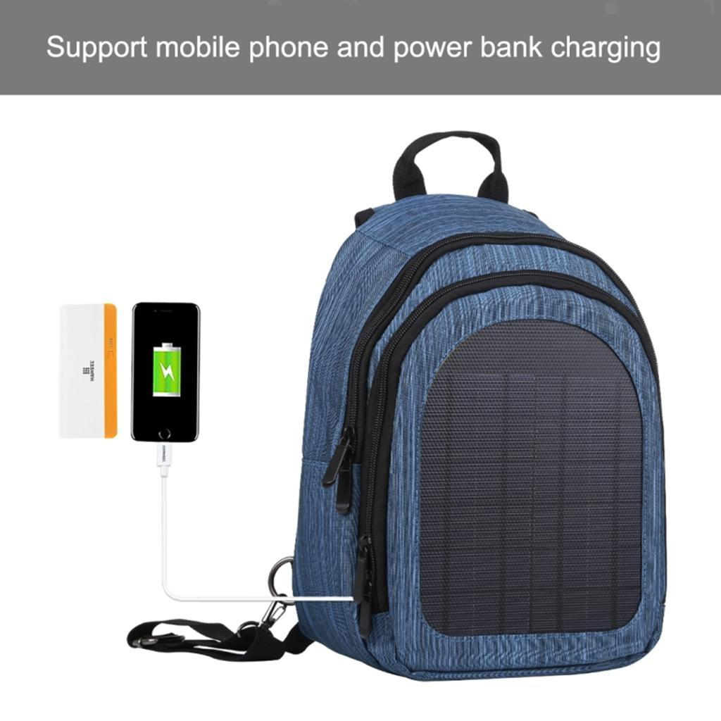 miniatura 20 - Con Cargador Solar mochila 2L para teléfonos inteligentes puerto de carga USB