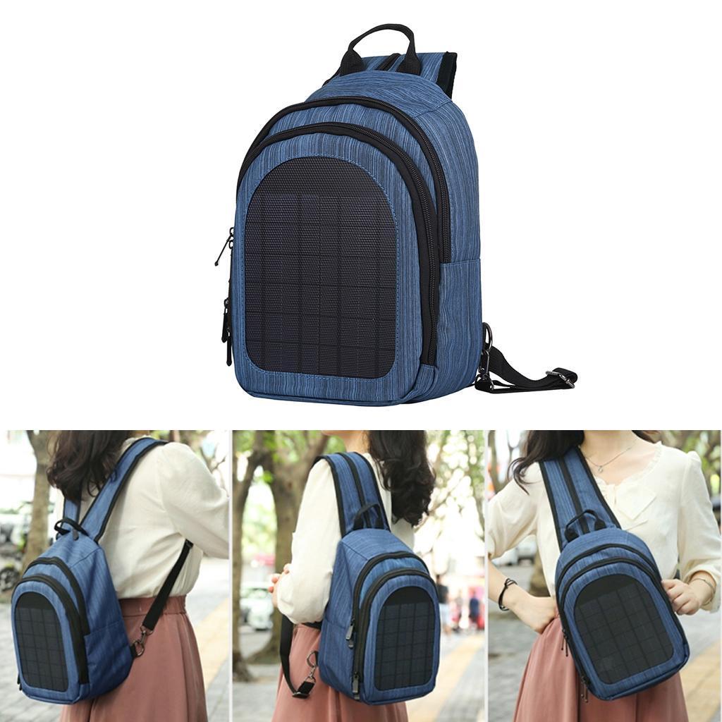 miniatura 24 - Con Cargador Solar mochila 2L para teléfonos inteligentes puerto de carga USB