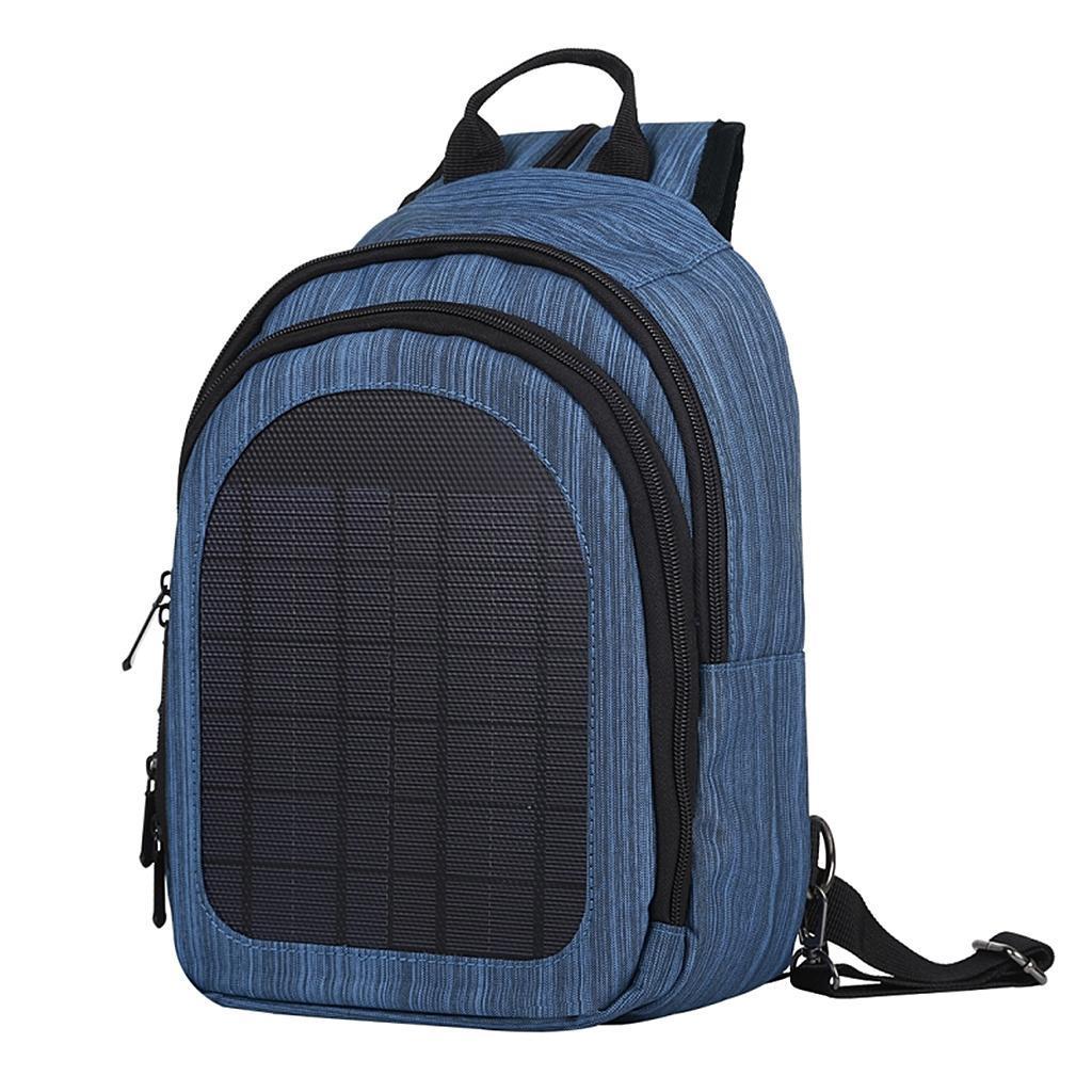 miniatura 21 - Con Cargador Solar mochila 2L para teléfonos inteligentes puerto de carga USB