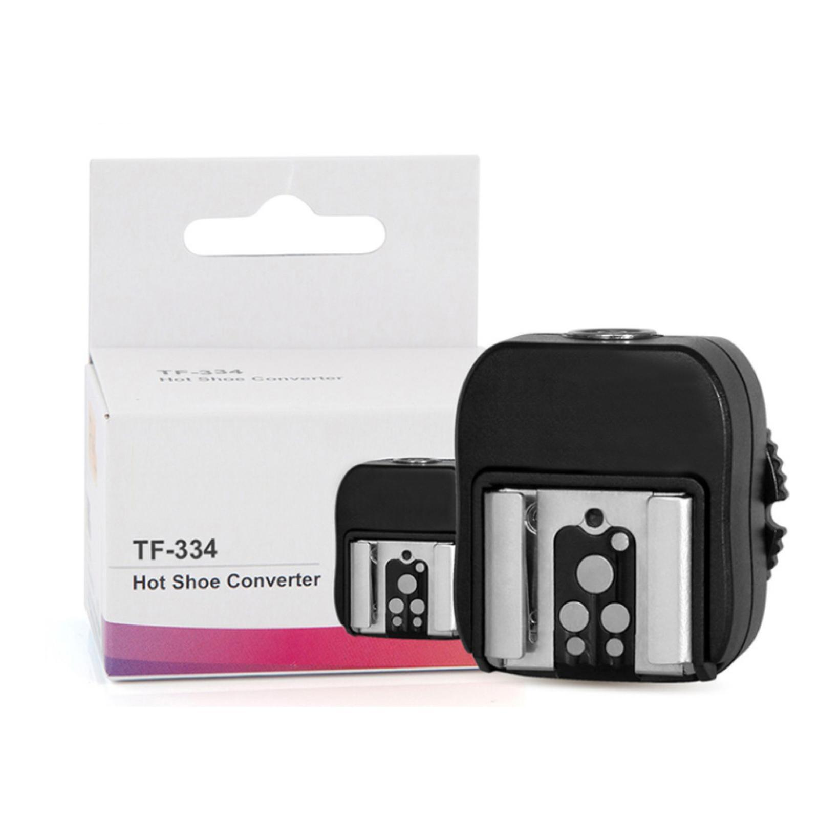 thumbnail 3 - TF334 Pixel Hot shoe Adapter with PC Port for Sony Studio Light Camera Flash