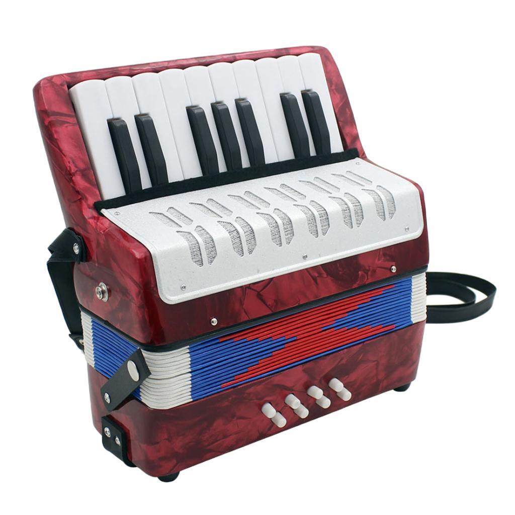 17-Noten-Kinder-Akkordeon-Ziehharmonika-Musikinstrument-fuer-die-Leistung Indexbild 12