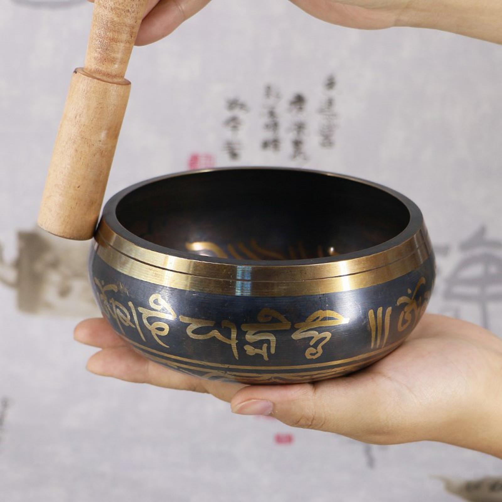 miniatura 16 - Nepal Singing Bowl Meditazione Buddista Ciotola Religione Relax Decorazioni