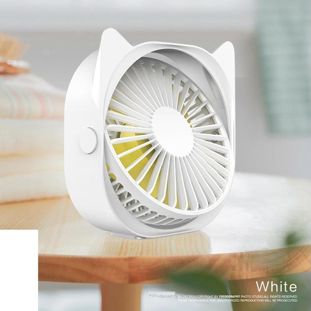 Mini-Ventilateur-electrique-Portatif-Silencieux-De-Rotation-De-360-Degres-De miniature 4