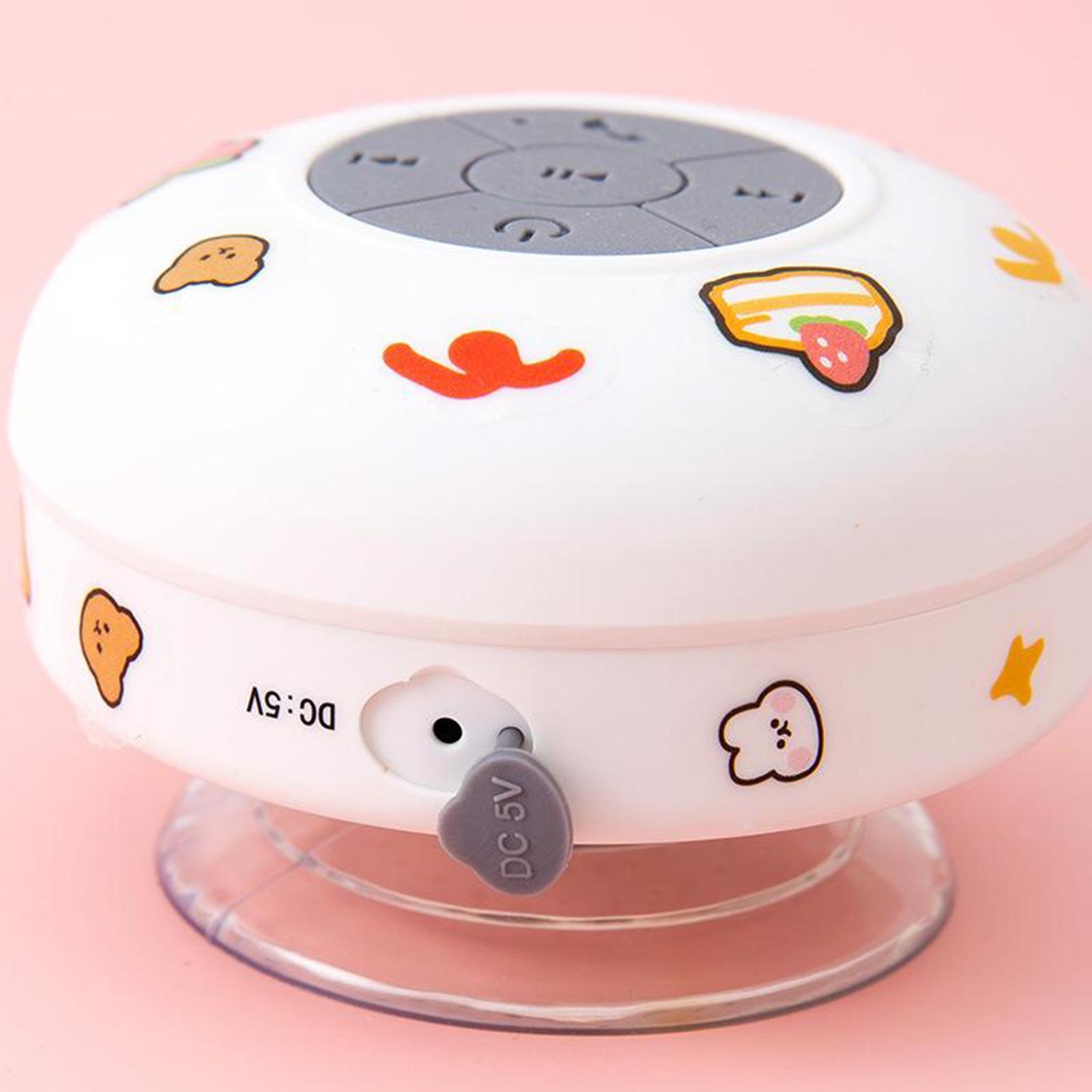miniature 3 - Waterproof Bluetooth Speaker Water Resistant Speaker W/SUCTION CUP Beach