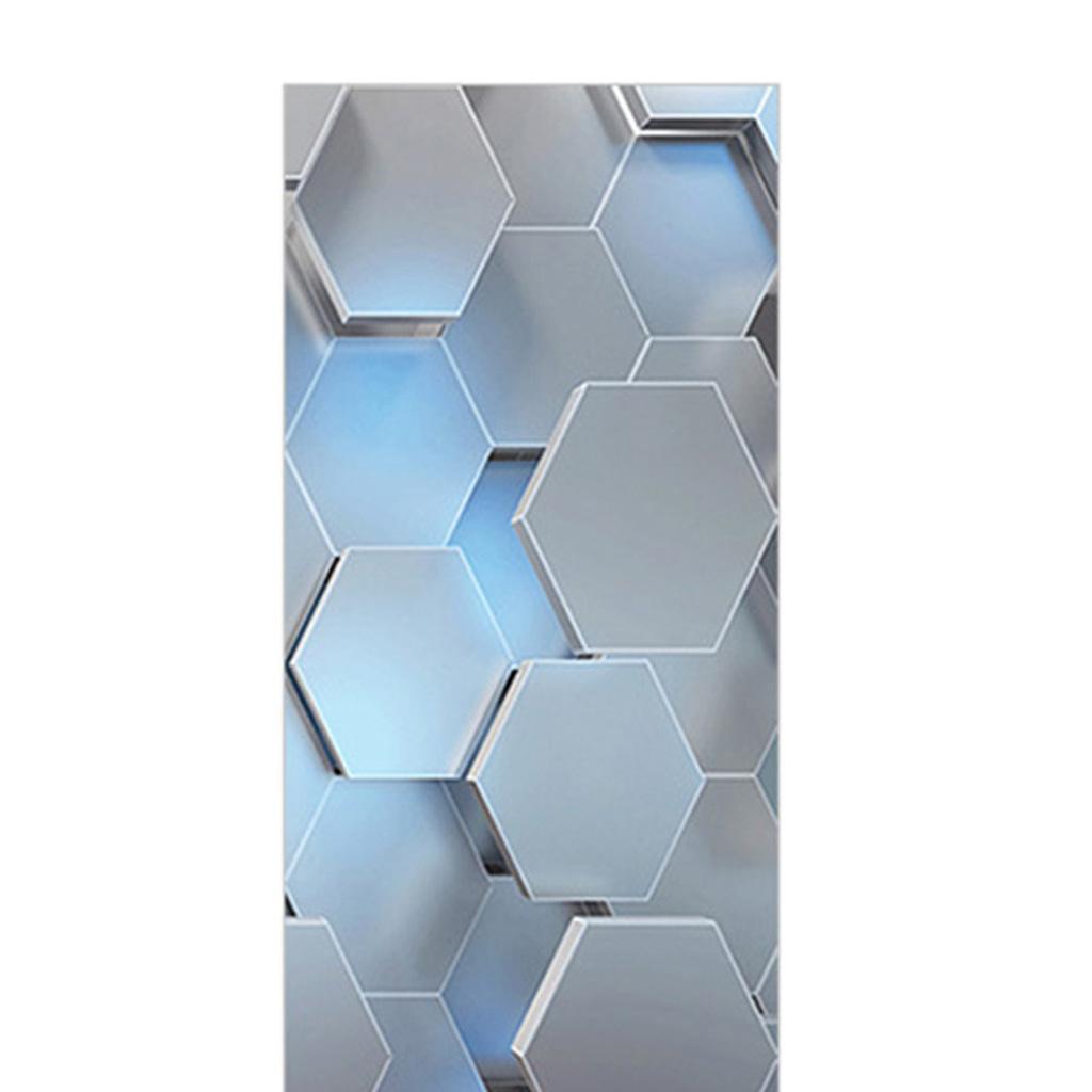 Indexbild 6 - 3D Türaufkleber Vinyl Selbstklebende Wandbilder Abziehbilder Tapete Wasserdicht