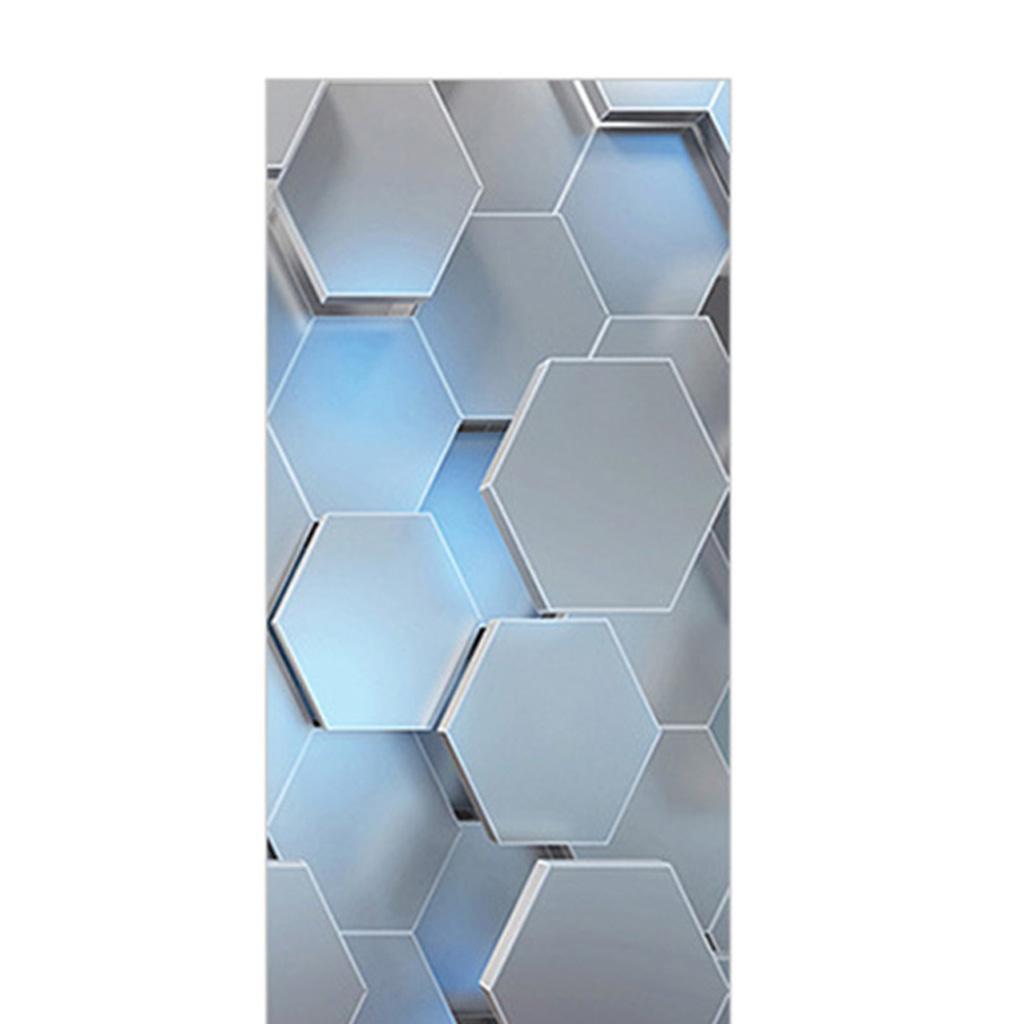 miniatura 10 - 3D Porta Adesivi Murali Decalcomanie Autoadesivo Adesivo Murale Carta Da